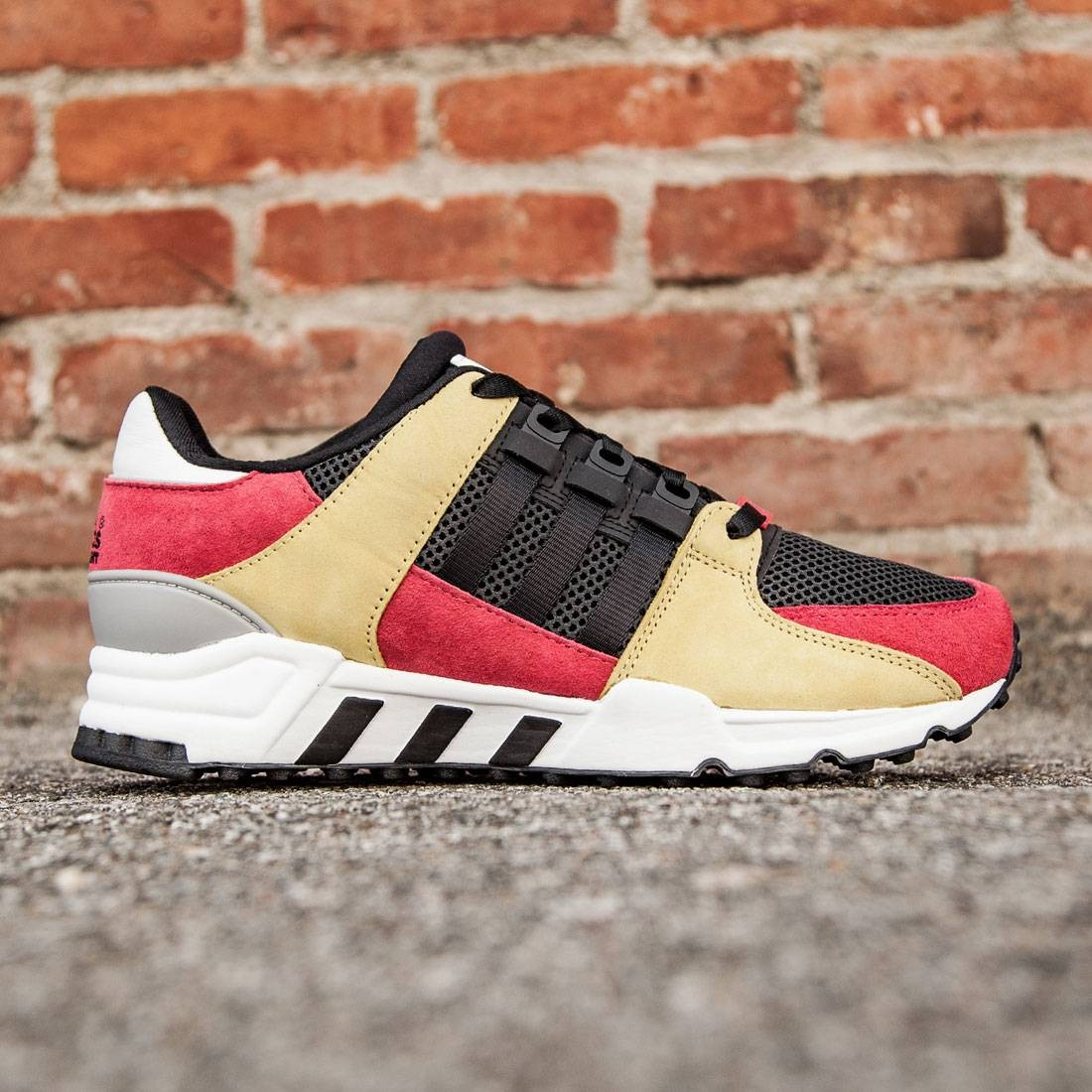 new style be6c7 11a2b Adidas Men EQT Running Support (pink / lush pink / core black / vintage  white)