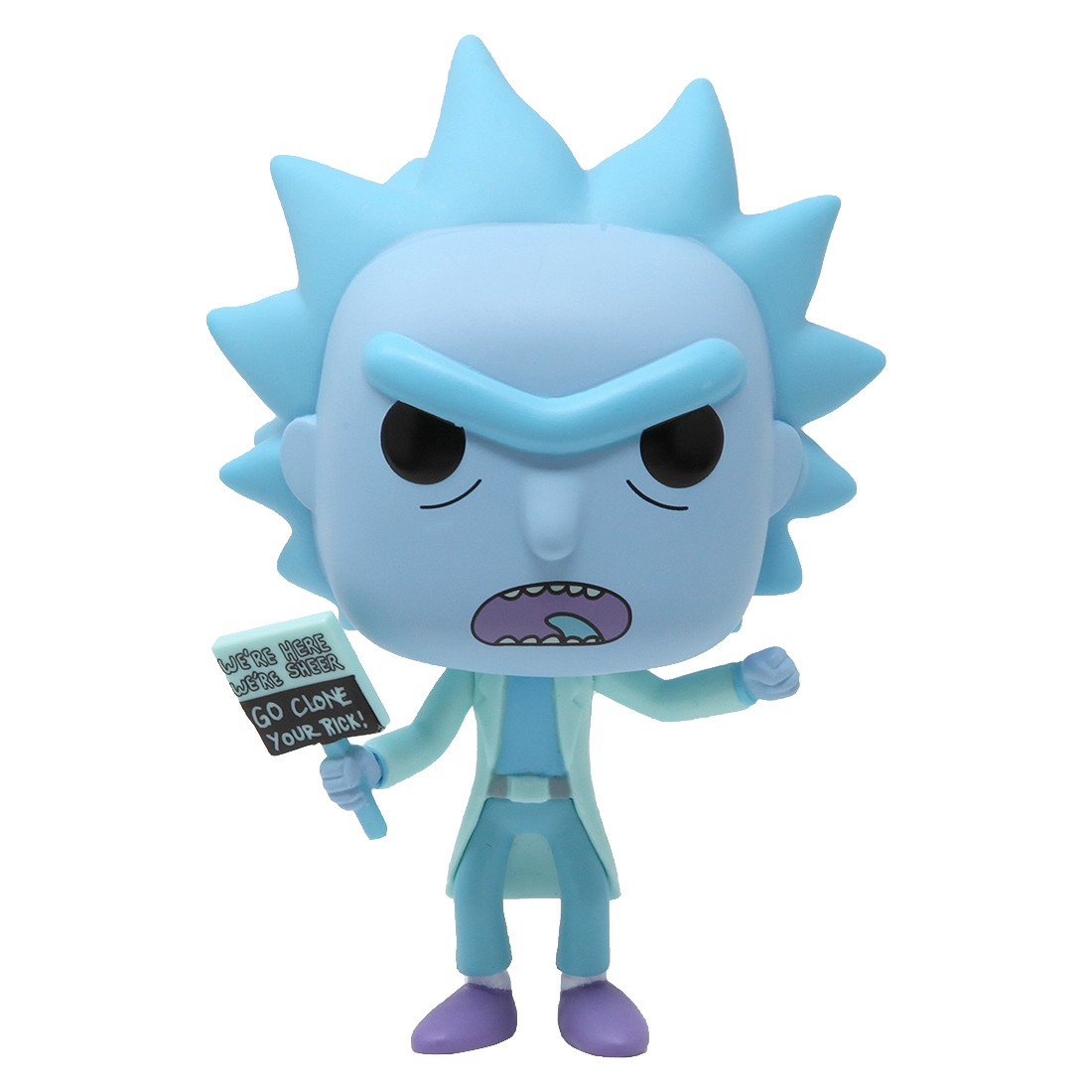 Funko POP Animation Rick And Morty Hologram Rick Clone (blue)