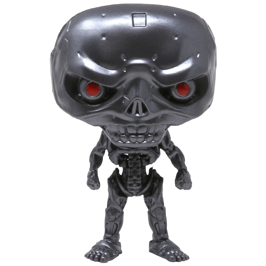 Funko POP Movies Terminator Dark Fate REV-9 Endoskeleton (silver)