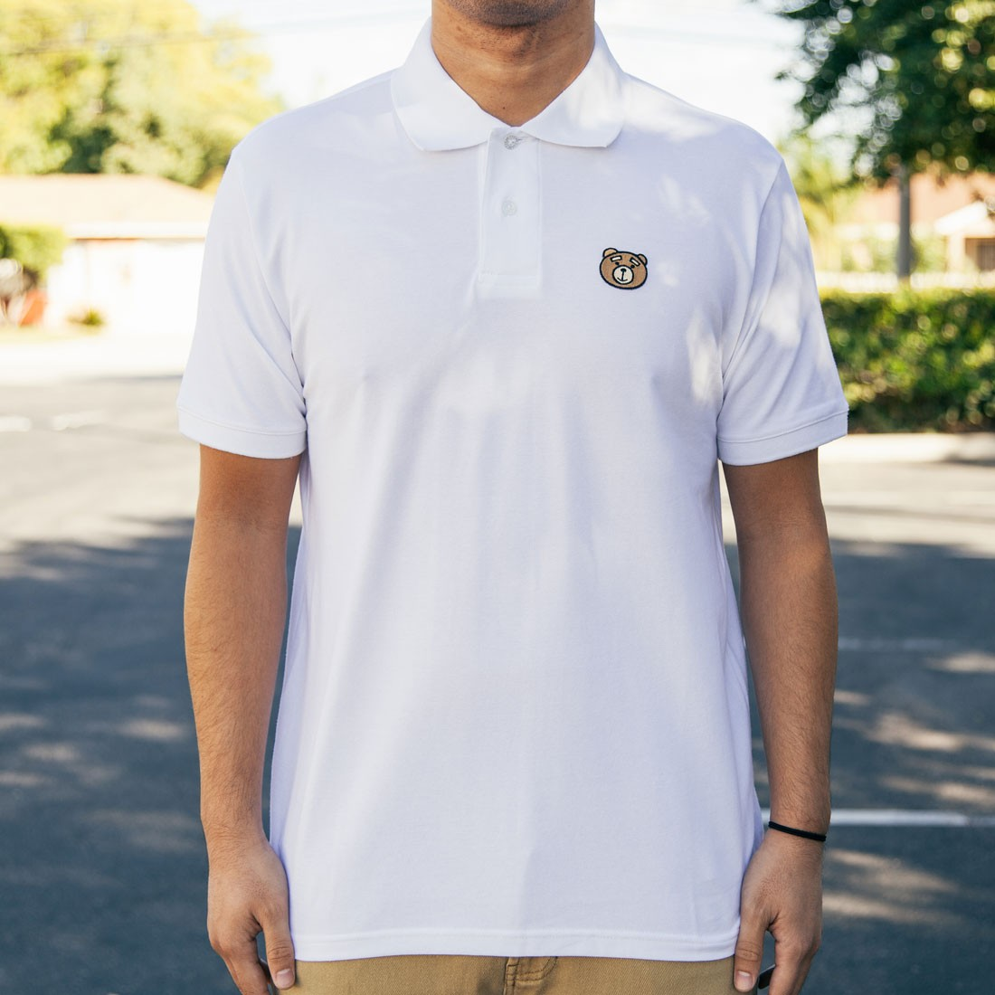 BAIT x TED2 Polo Shirt (white)