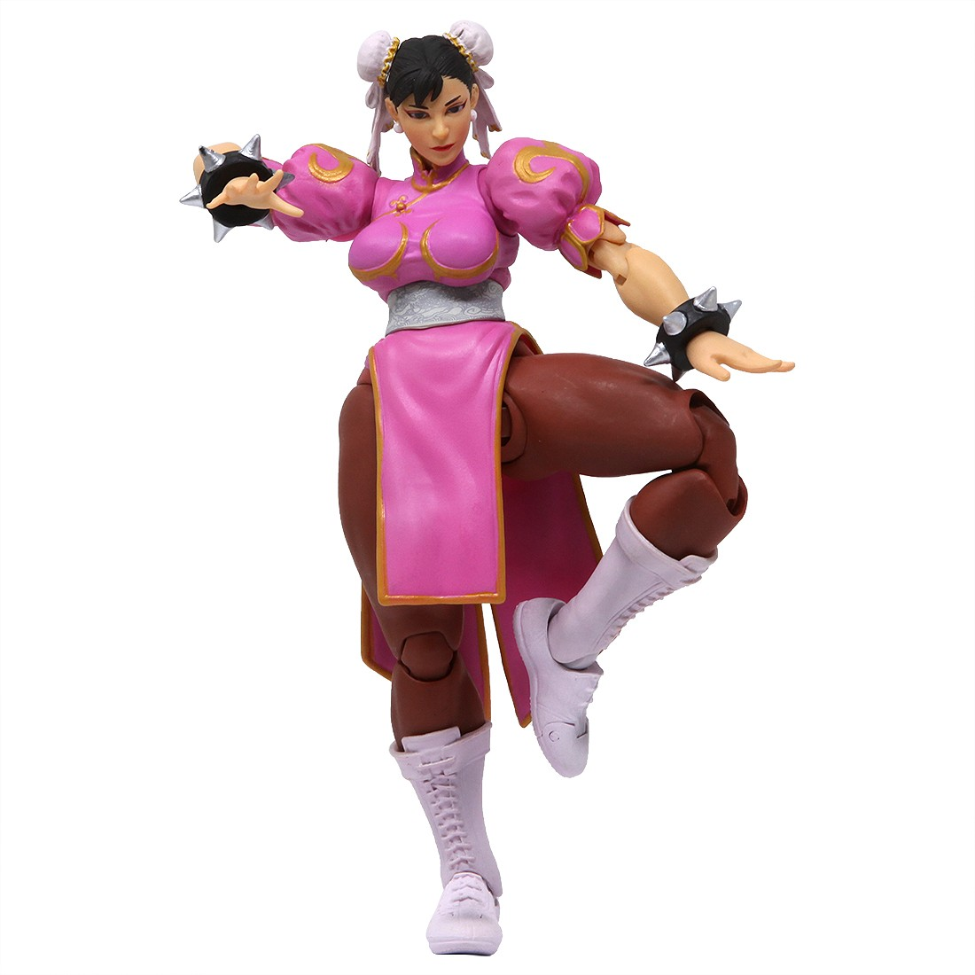 Storm Collectibles Street Fighter V Chun-Li Special Edition 1/12 Action Figure (pink)
