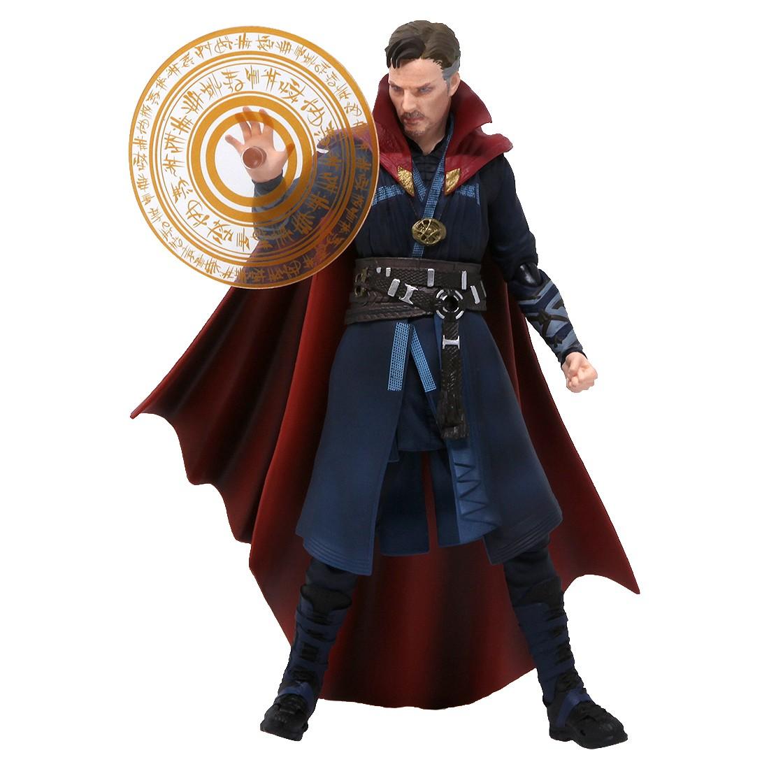 Bandai S.H.Figuarts Doctor Strange And Burning Flame Set Figure (navy)