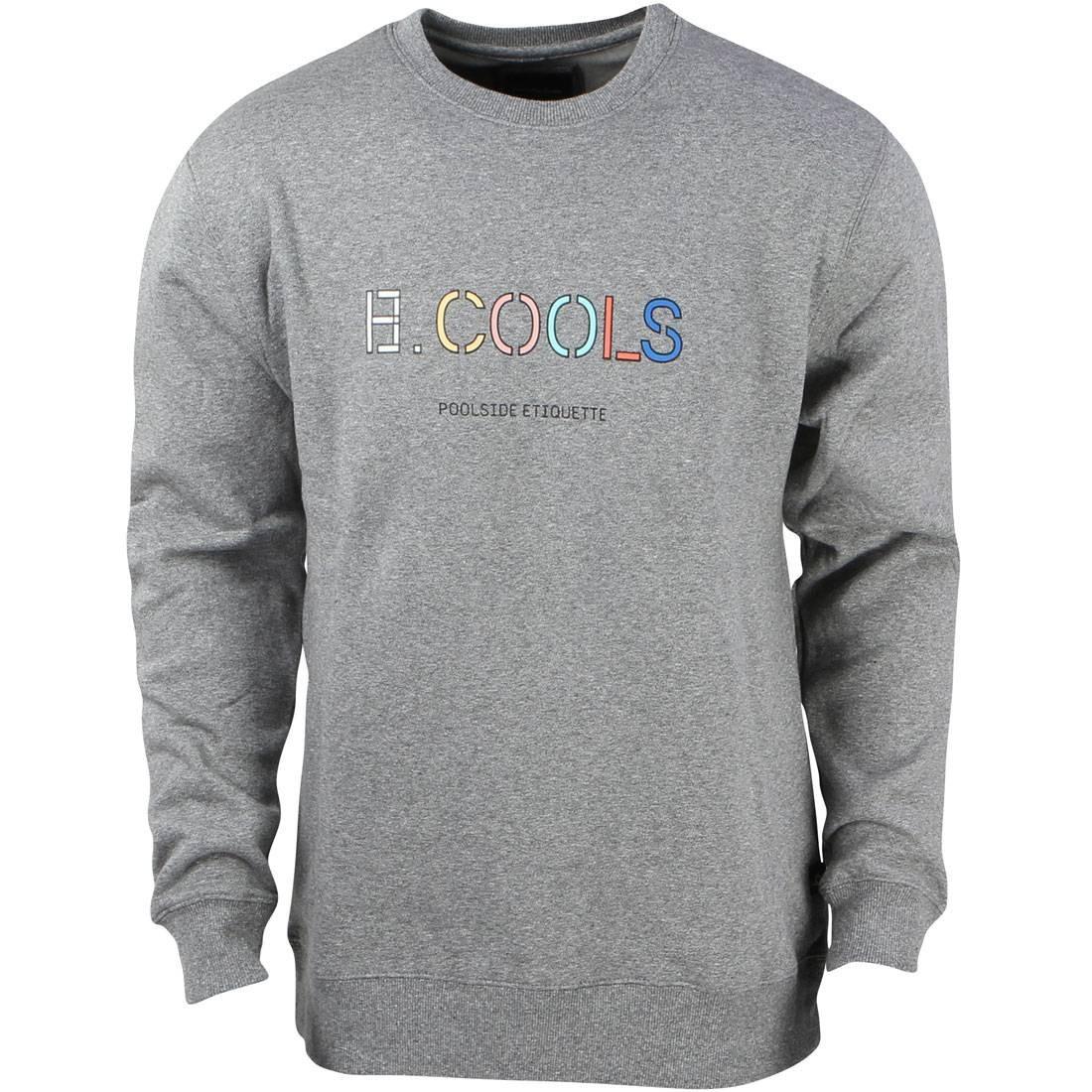 Barney Cools Men 90s Cools Crew Sweater (gray / melange)