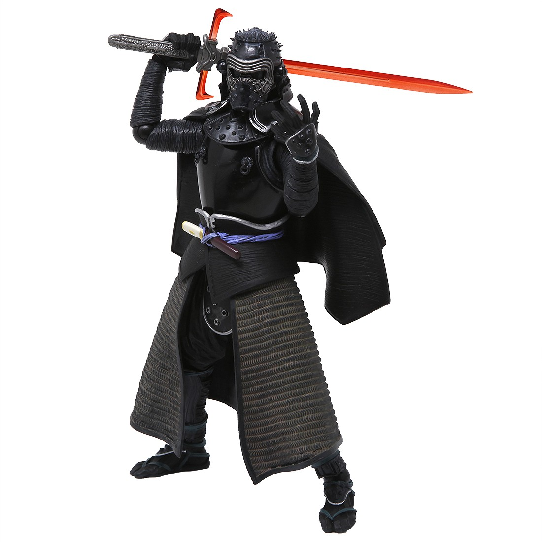 Bandai Meisho Movie Realization Star Wars Episode VII Samurai Kylo Ren Figure (black)