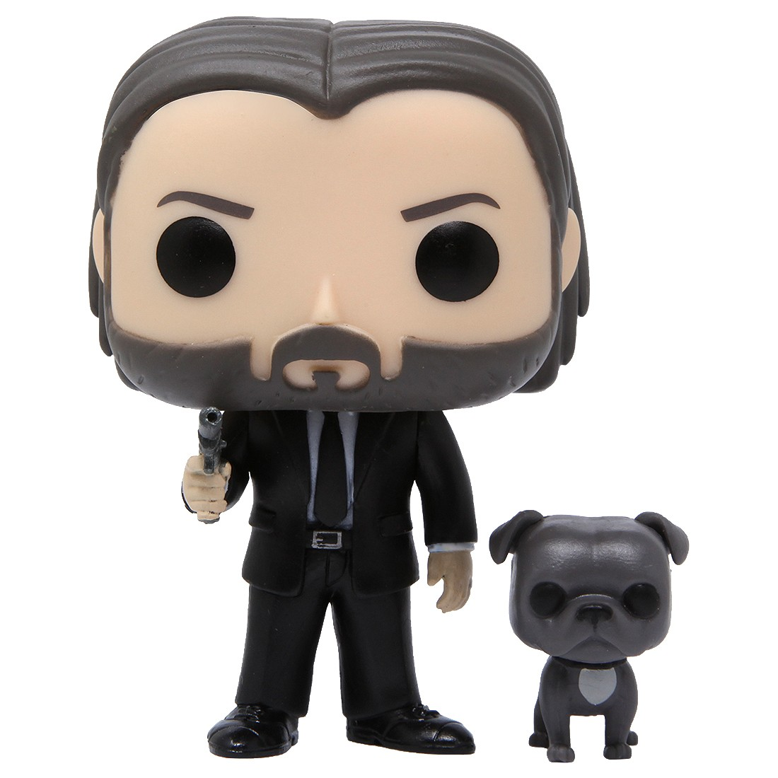 Funko POP Buddy John Wick Black Suit With Dog (black)