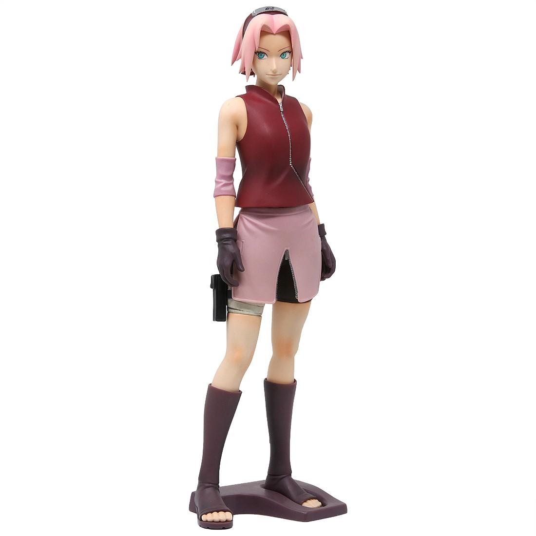 Banpresto Naruto Shippuden Grandista Shinobi Relations Haruno Sakura Figure (pink)