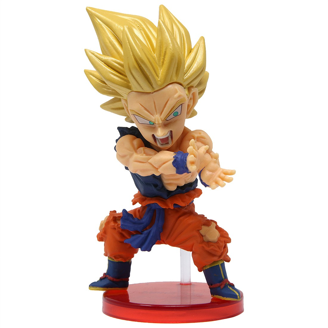 Banpresto Dragon Ball Legends Collab World Collectable Figure Vol 1 - 02 Super Saiyan Goku (orange)