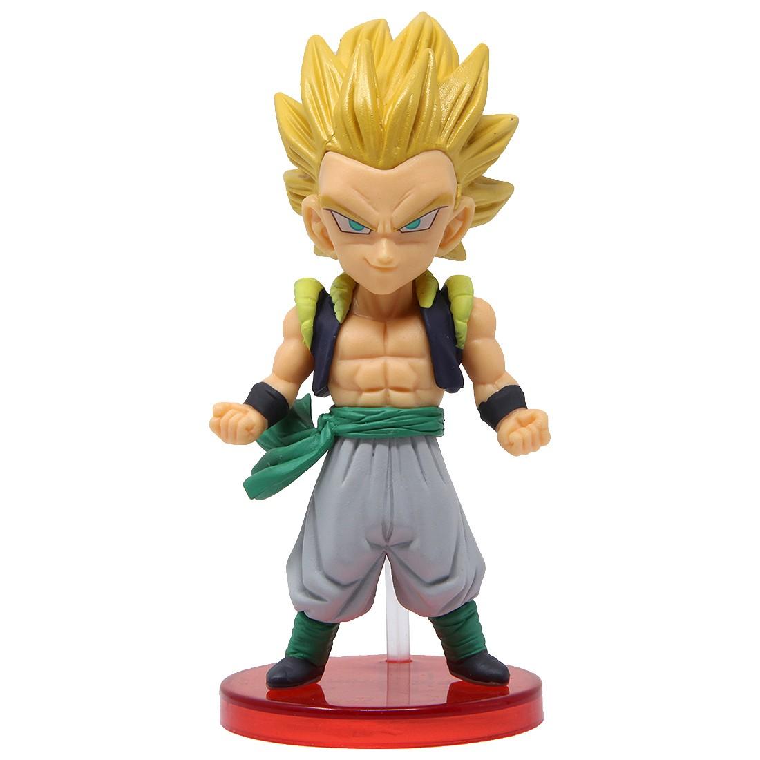 Banpresto Dragon Ball Legends Collab World Collectable Figure Vol 1 - 03 Super Saiyan Gotenks (tan)