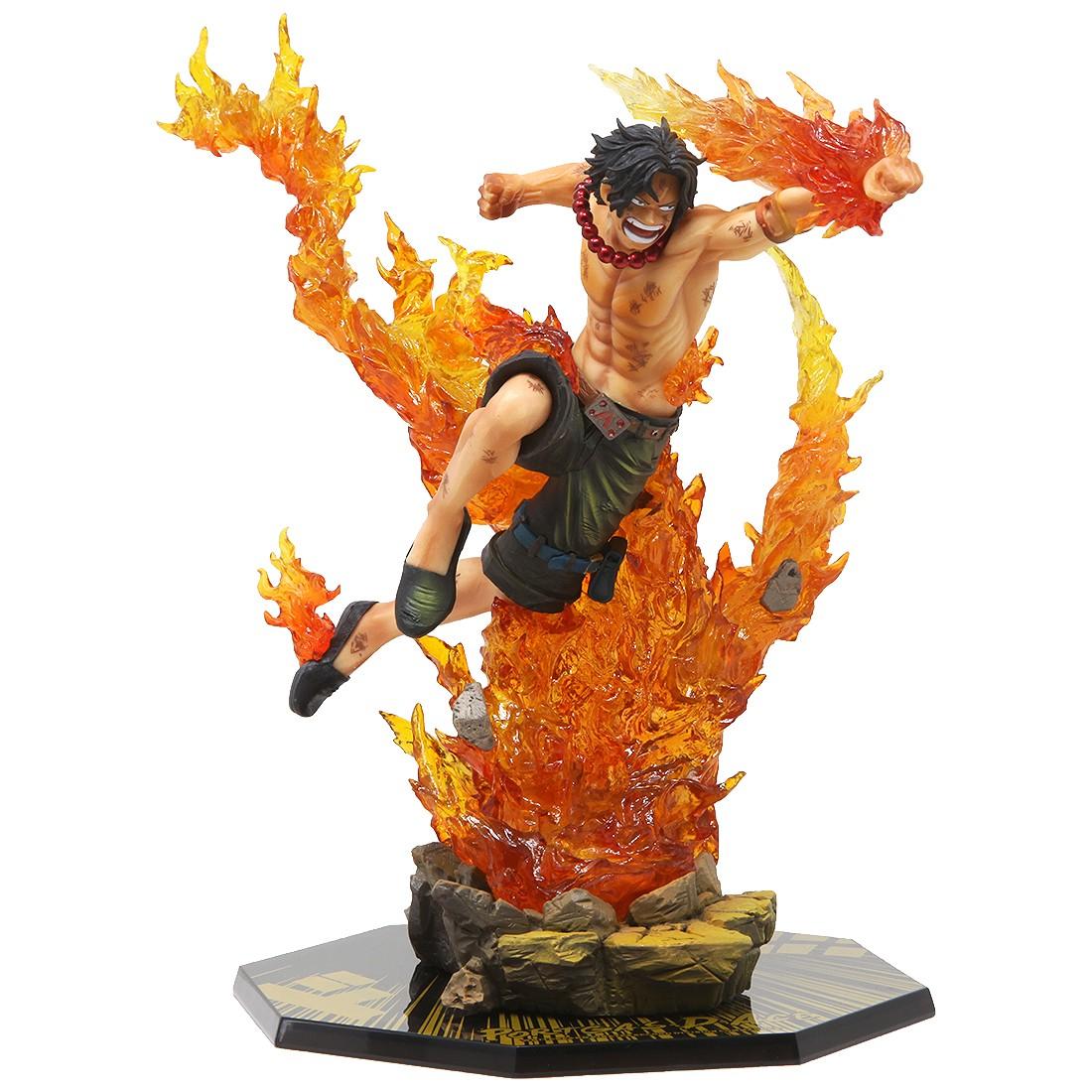 Bandai Figuarts Zero One Piece Portgas D. Ace Commander Of The Whitebeard 2nd Division Figure (orange)