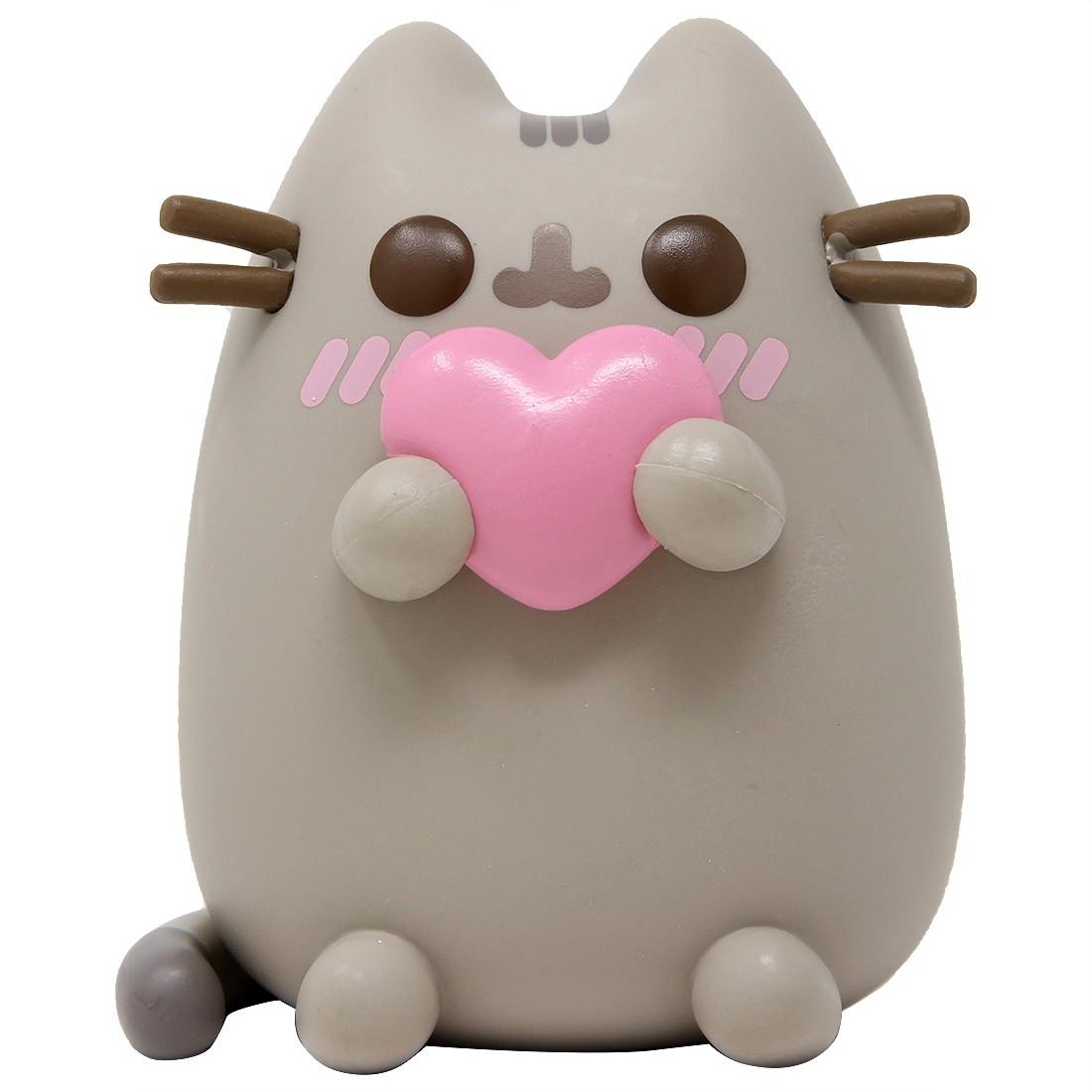 Funko POP Pusheen The Cat - Pusheen With Heart (gray)
