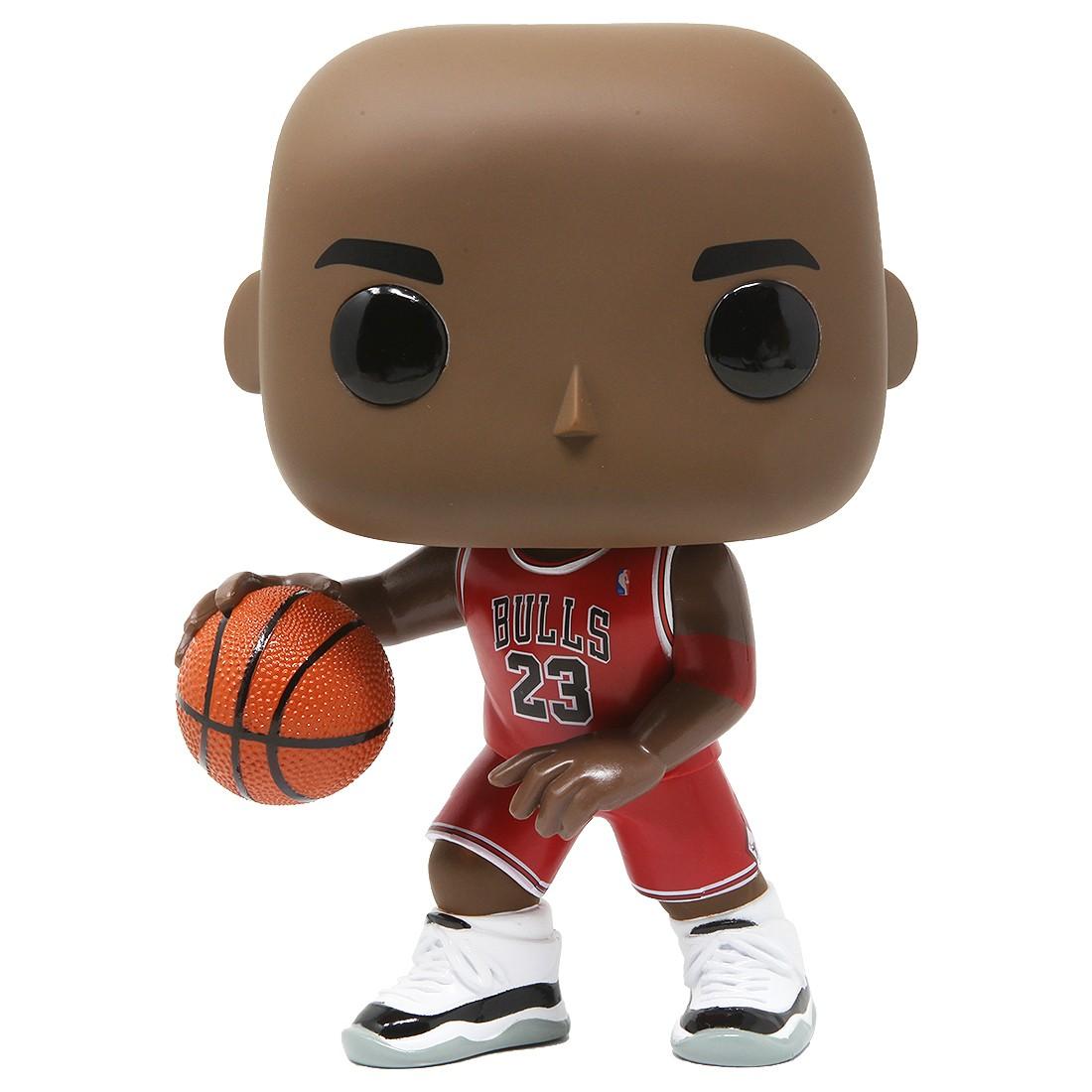 Funko POP NBA Chicago Bulls 10 Inch Michael Jordan Red Jersey (red)