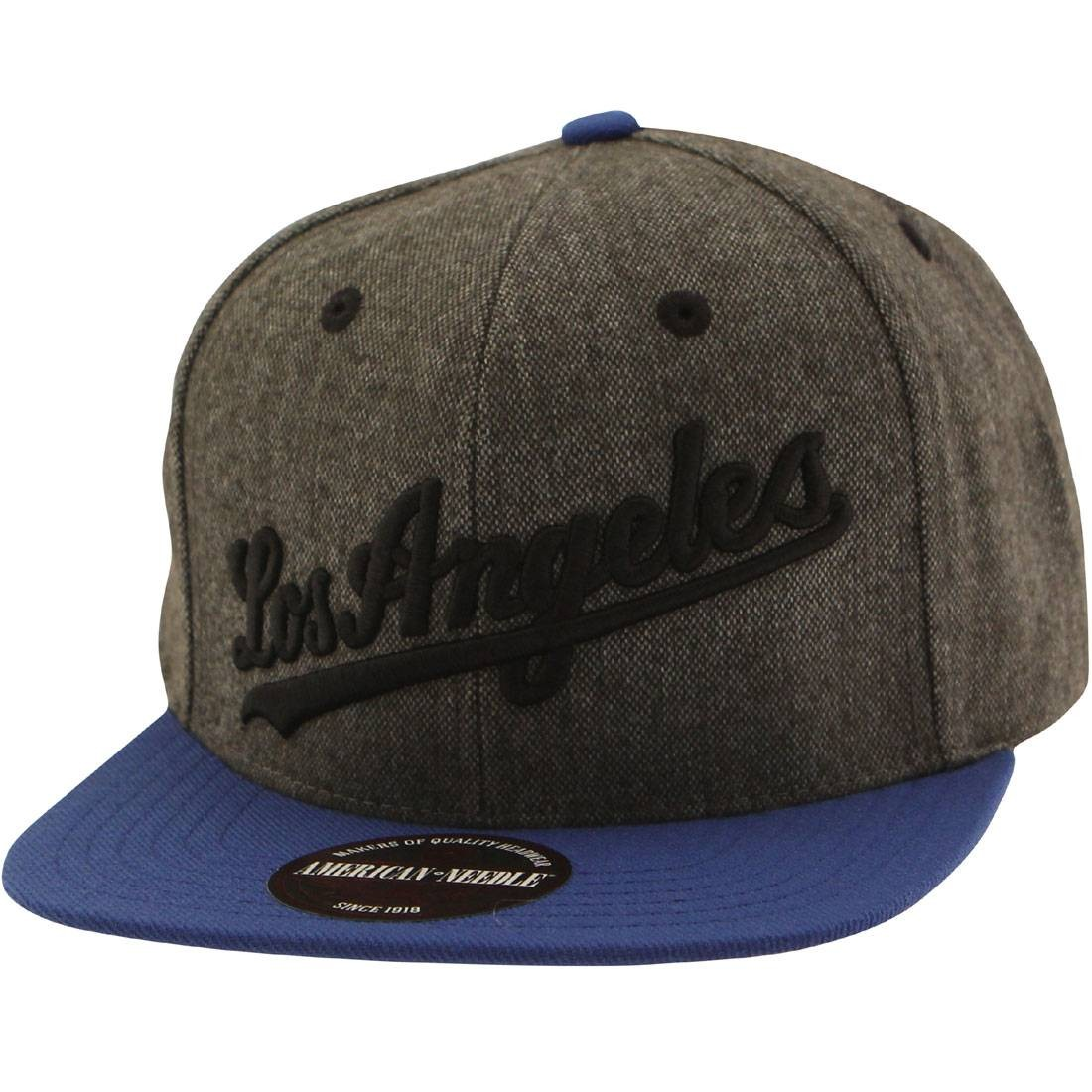c3b09505be3e1 American Needle MLB Los Angeles Dodgers Snapback Cap - Flak brown royal