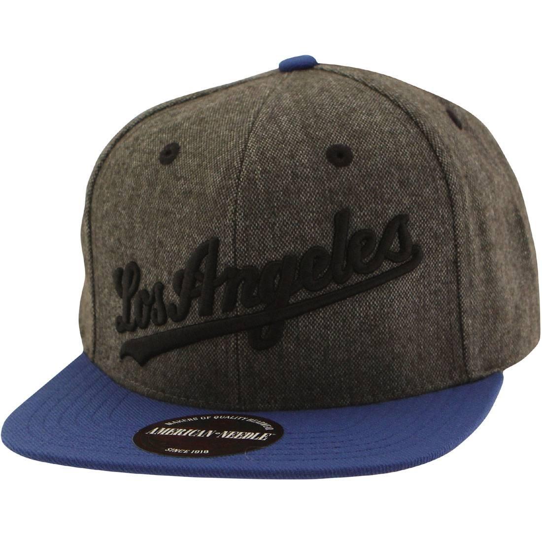 c3b09505be3e1 American Needle MLB Los Angeles Dodgers Snapback Cap - Flak brown royal