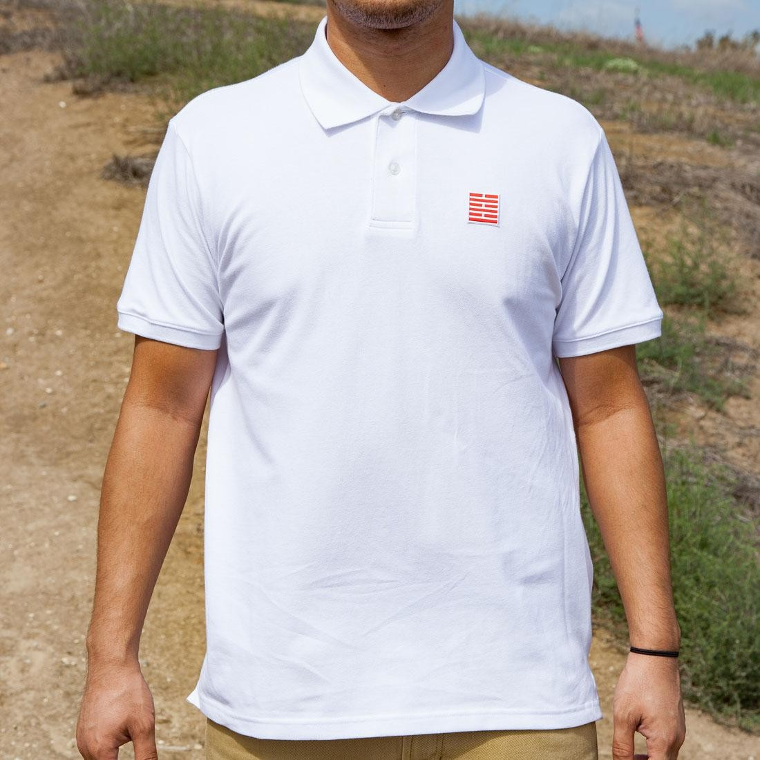 BAIT x GI Joe Storm Shadow Polo Shirt (white)