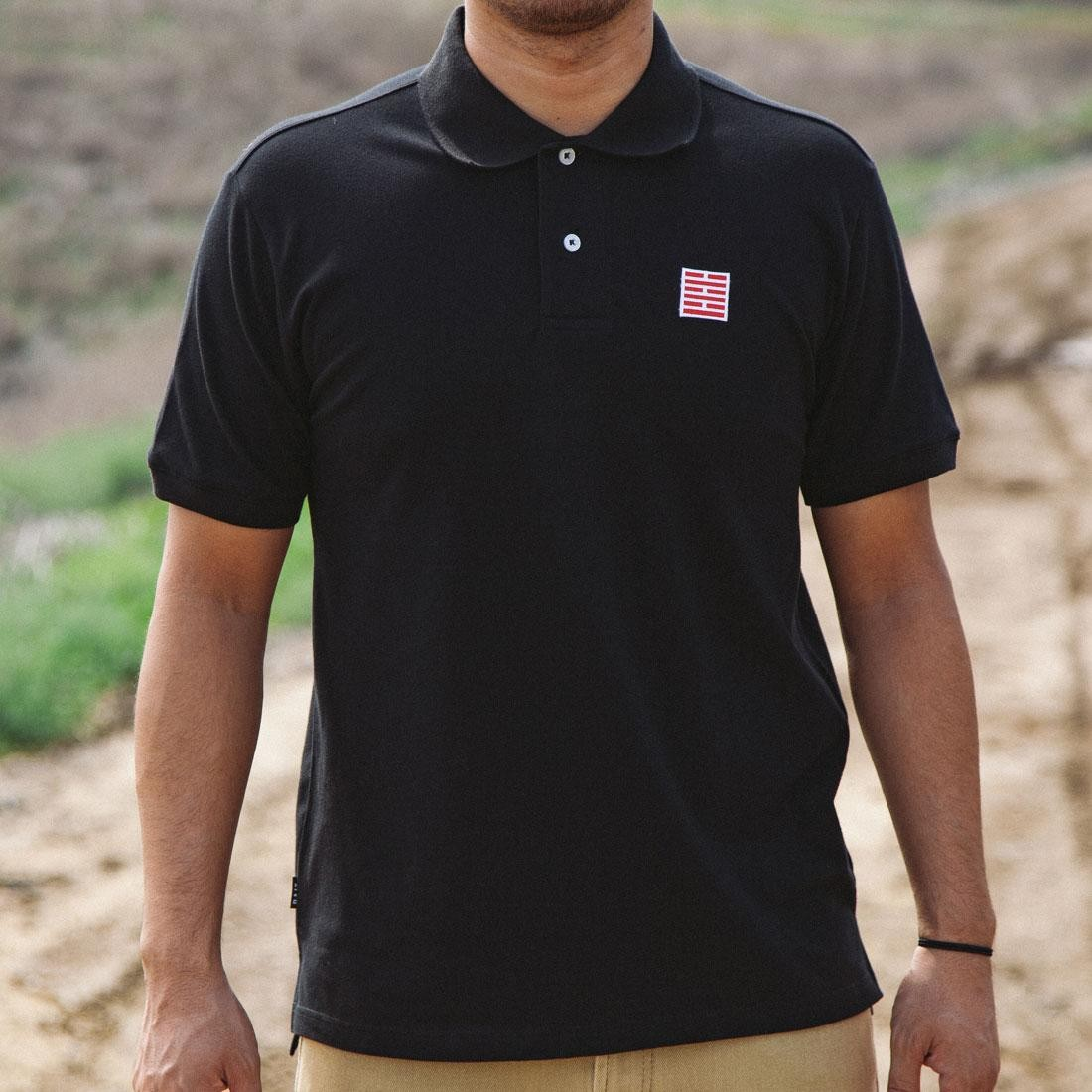 Bait X Gi Joe Snake Eyes Polo Shirt Black