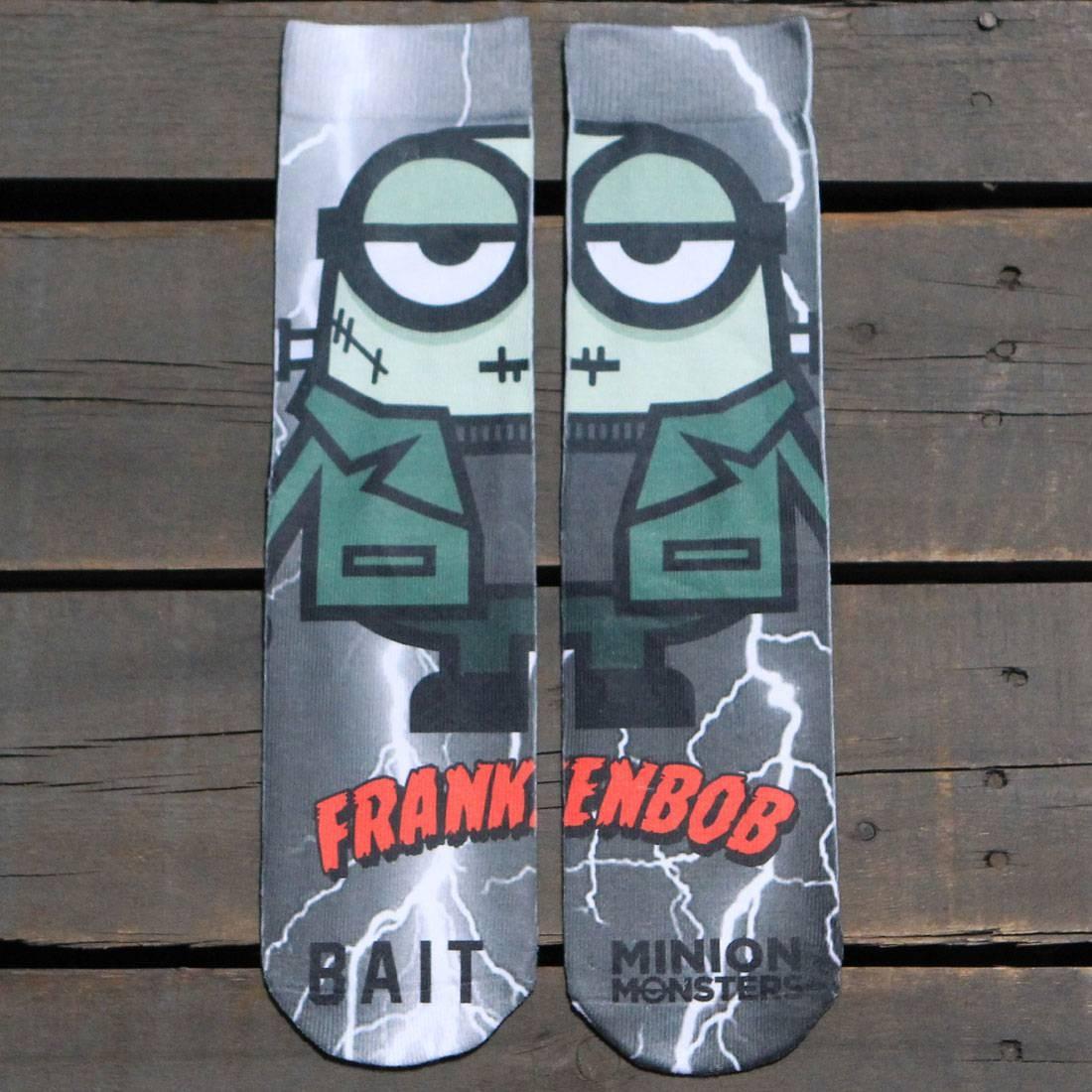 BAIT x Minion Monsters Men FrankenBob Socks (green) 1S