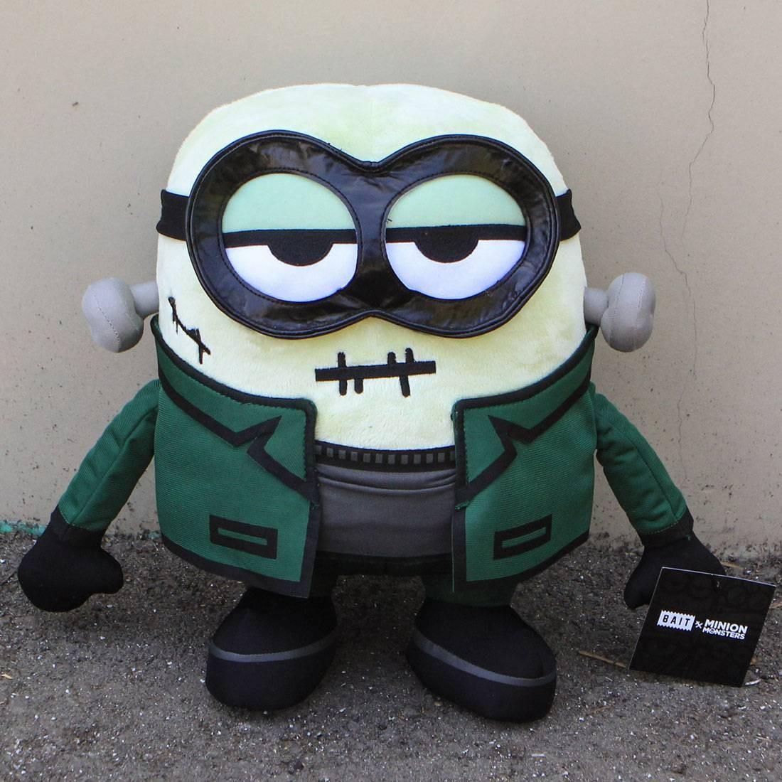 BAIT x Minion Monsters FrankenBob 12 Inch Plush (green)