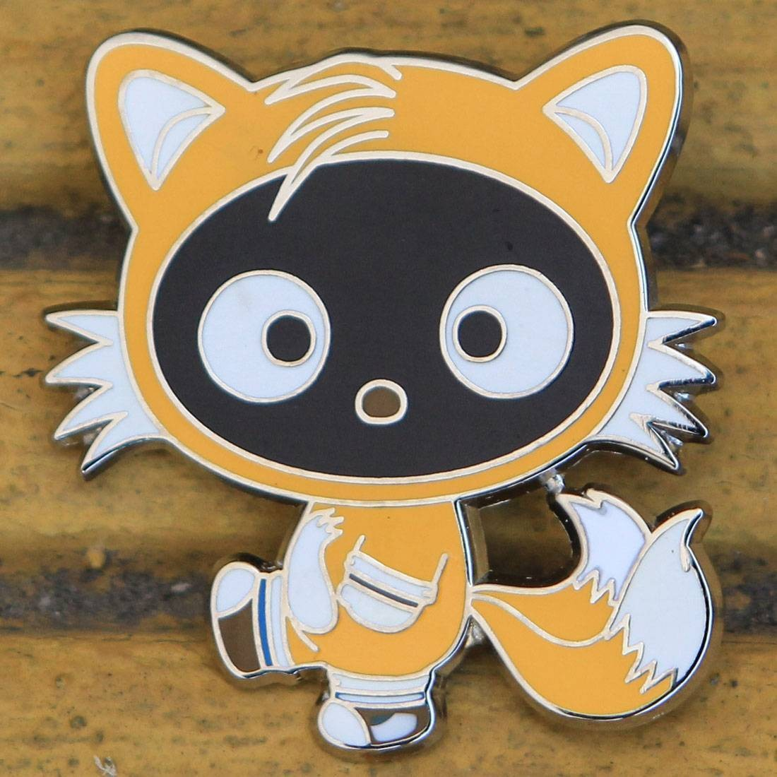 BAIT x Sanrio x Sonic Yellow Chococat Pin (yellow)