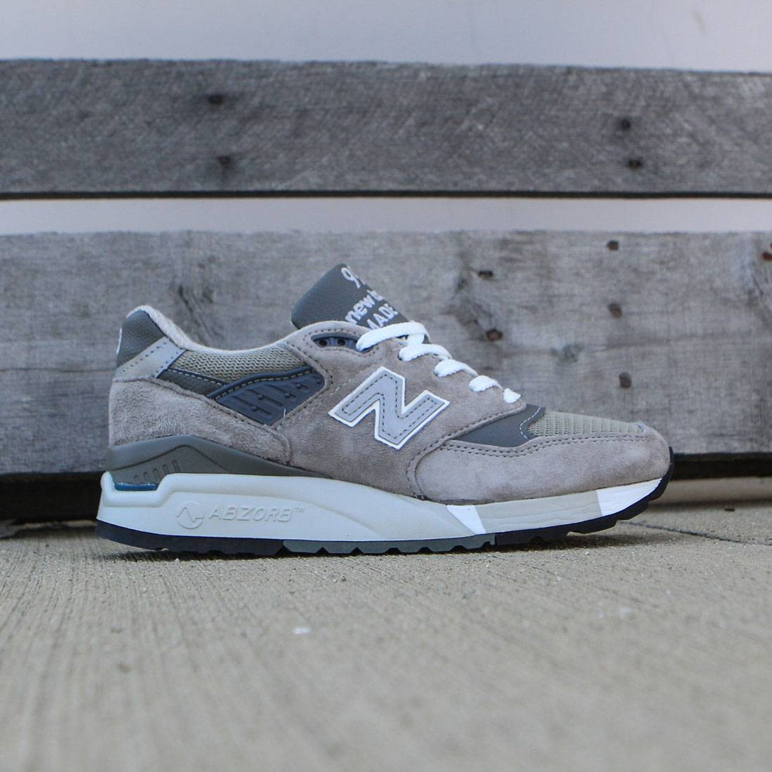 New Balance Women 998 W998G - Made In USA gray cd8725bfb6