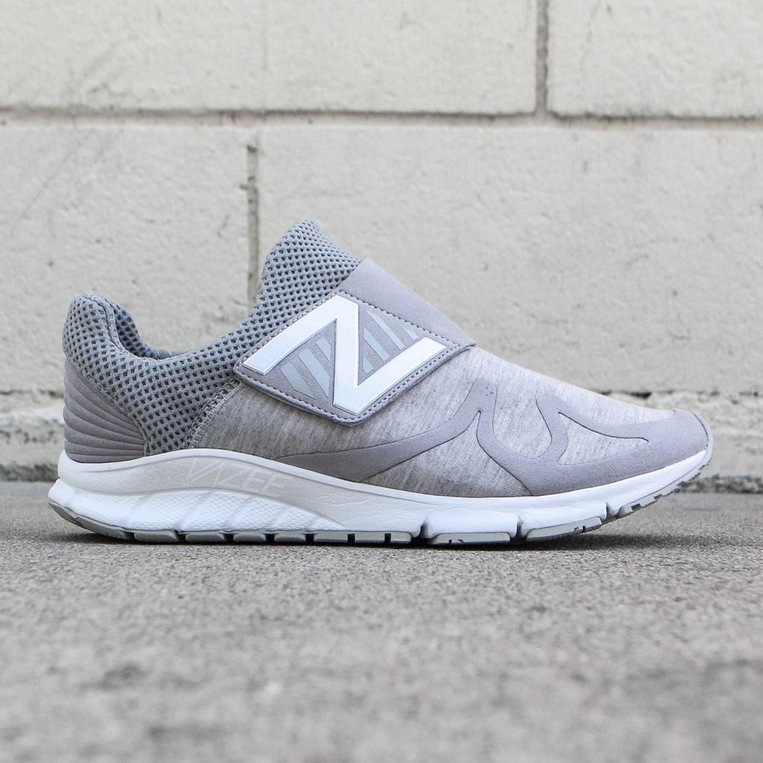 civilización Responder mudo  New Balance Men Vazee Rush Sweatshirt MLRUSHVG gray light grey white