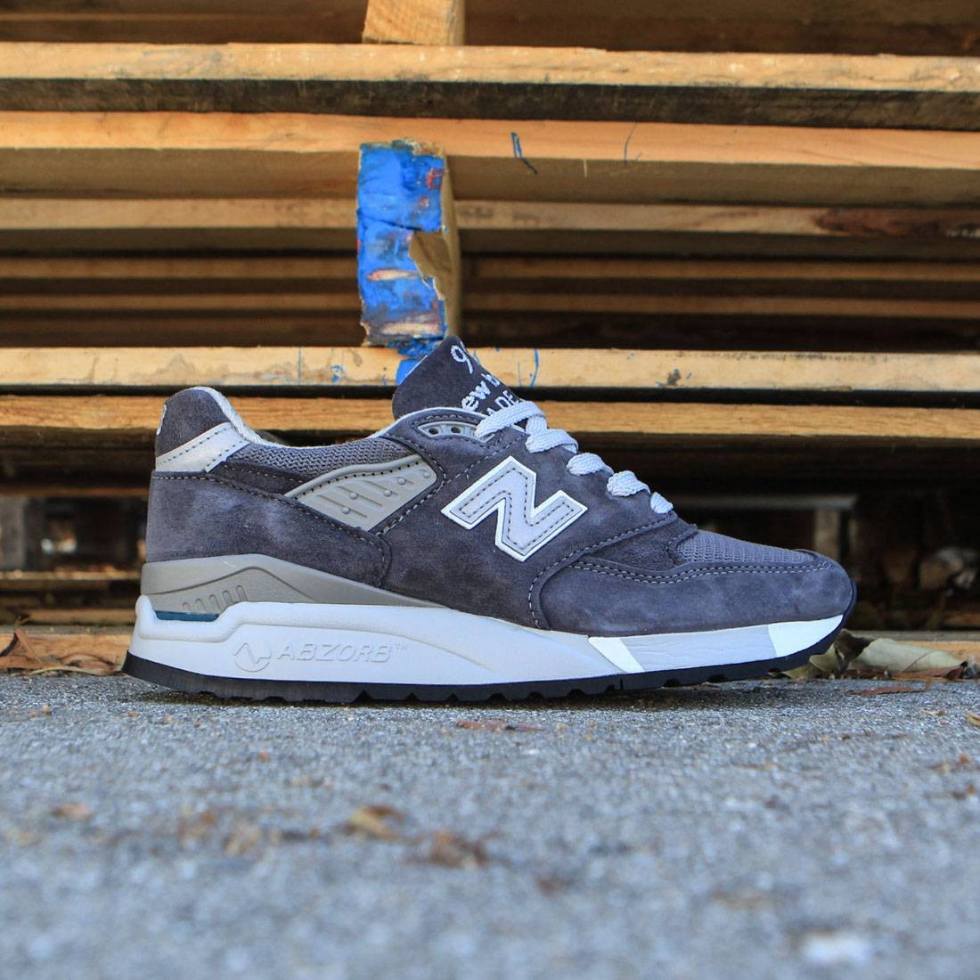 257d836e58 New Balance Women 998 W998CH - Made In USA (gray / charcoal)