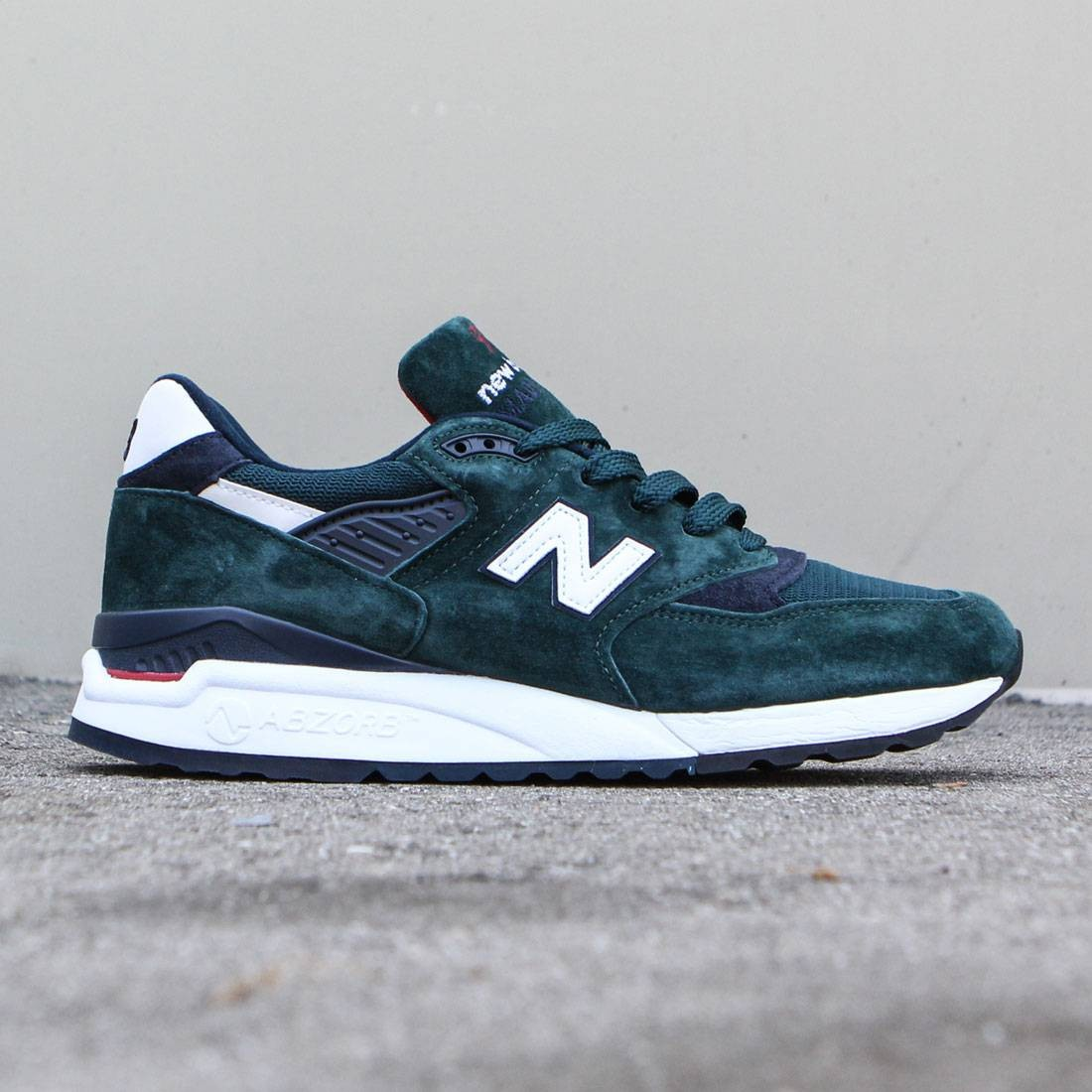 timeless design a18c2 25767 New Balance Men 998 Age of Exploration M998CHI - Made In USA (green / dark  green / navy)