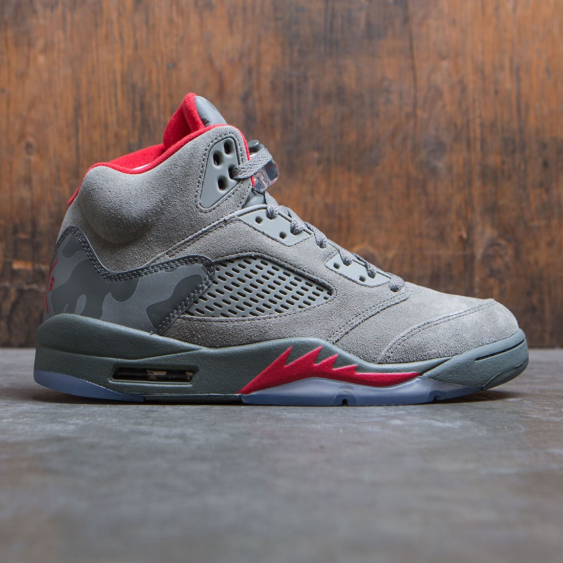 f88a82a79ce9 jordan men air jordan 5 retro dark stucco university red river rock