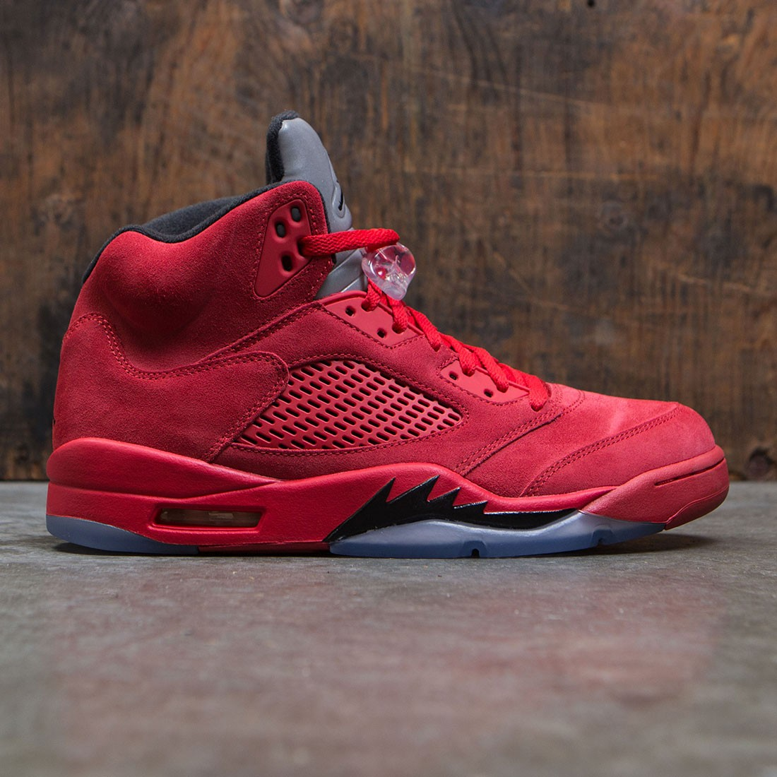 low priced 1610f 57e7a jordan men air jordan 5 retro university red black