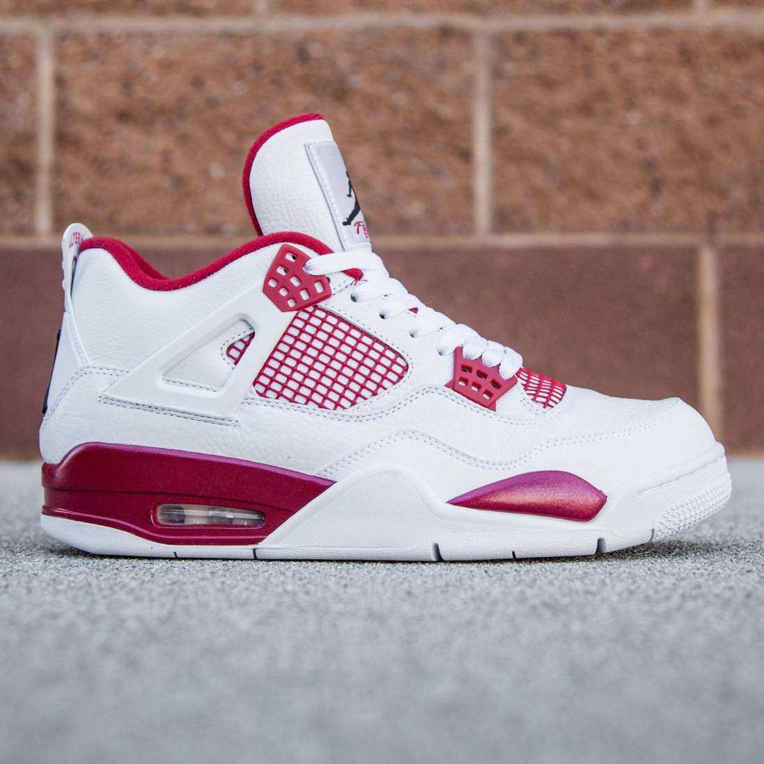the latest 8b13d ca7d9 Jordan Men Air Jordan 4 Retro - Alternate (white / black / gym red)
