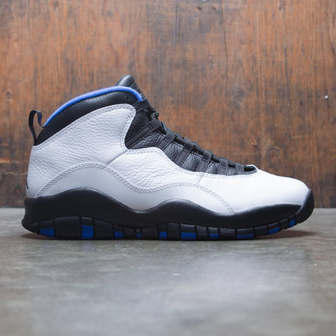 Air Jordan 10 Retro Men (white / black-royal blue-metallic silver)