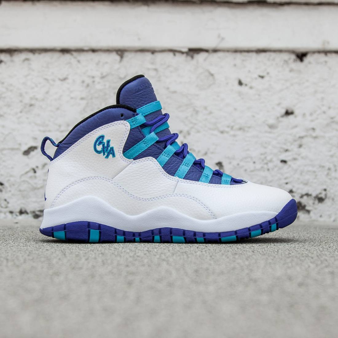 f95a8fd48fce Jordan Big Kids Air Jordan Retro 10 (white   concord-blue lagoon-black)