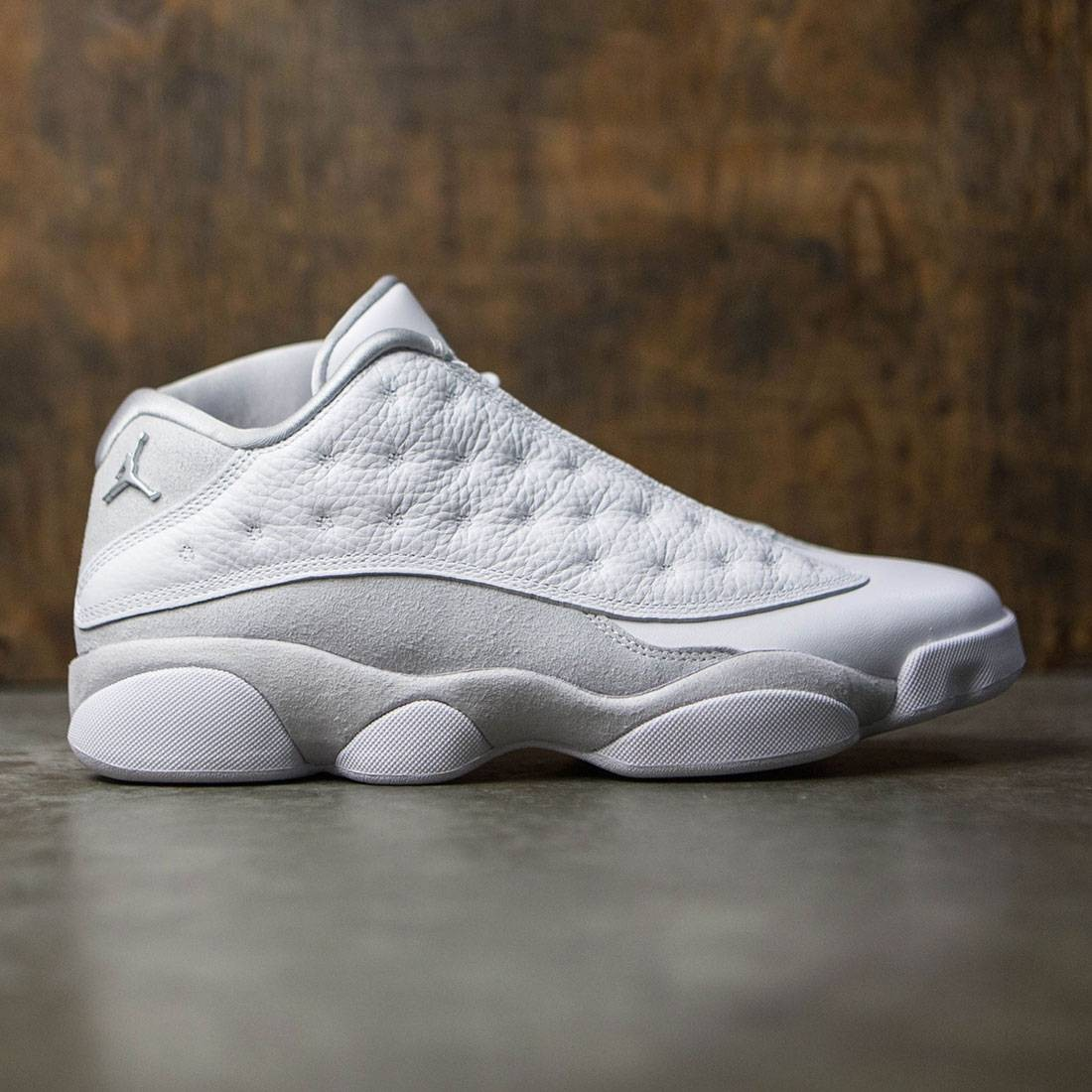 ca71131cb82 jordan men air jordan xiii retro low white metallic silver pure platinum