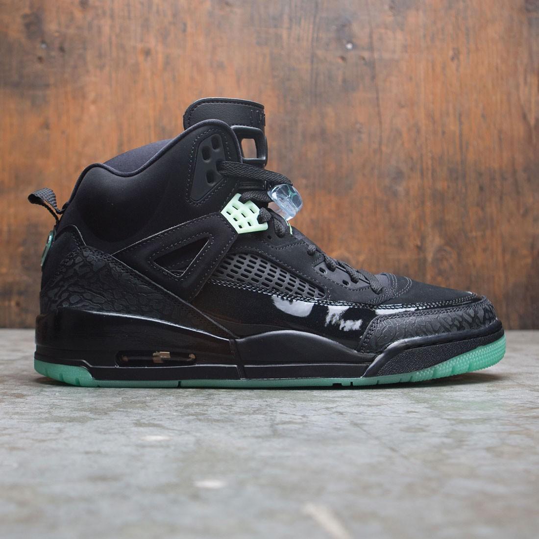 wholesale dealer c97e0 4a0c9 Jordan Men Spizike (black / green glow-anthracite)
