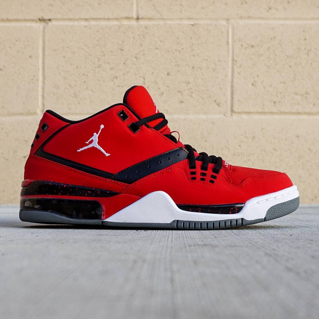 Jordan Men Flight23 (red / gym red / white / black / cool grey)