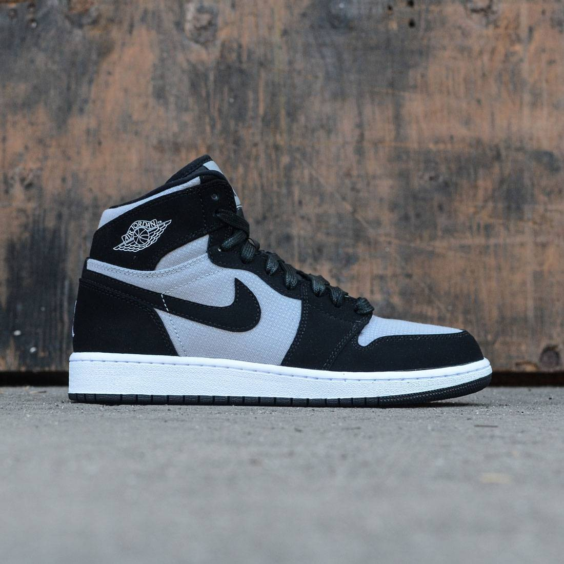 8a699f15076 ... new zealand jordan big kids air jordan 1 retro high gs wolf grey white  black 0c92b
