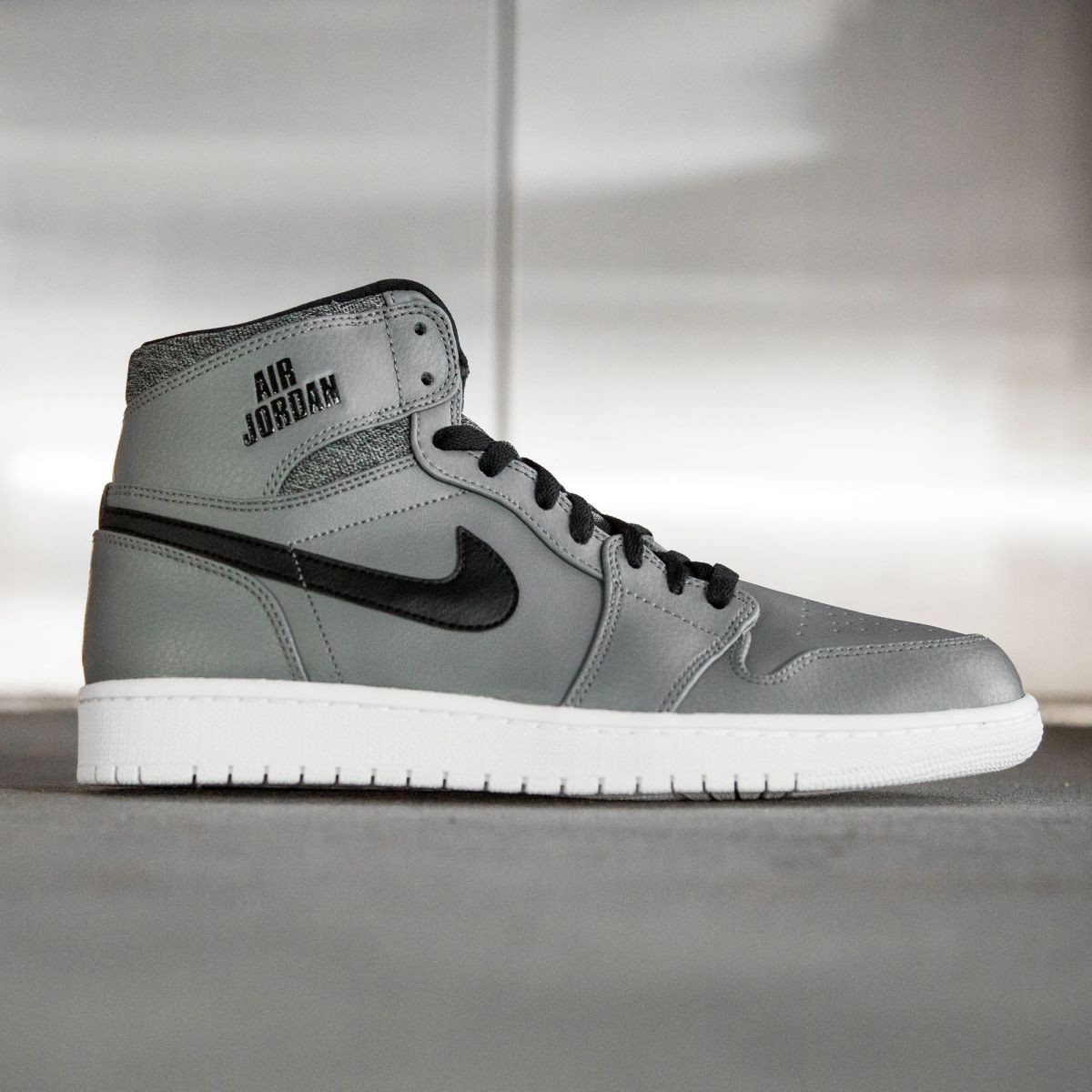 Air Jordan 1 Retro High Men (gray / cool grey / white / black)