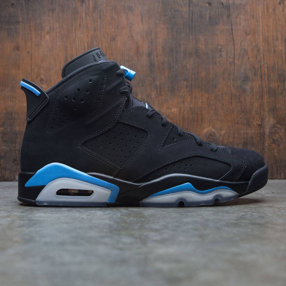 best website 3f88b a0d45 Air Jordan 6 Retro Men (black / university blue)
