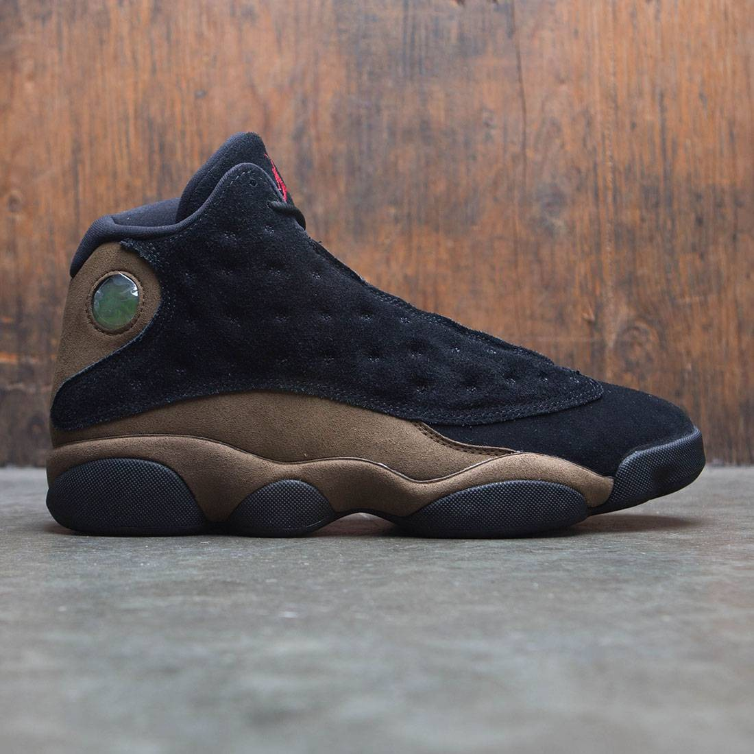 75e3fc85172a4f jordan men air jordan 13 retro black gym red light olive white