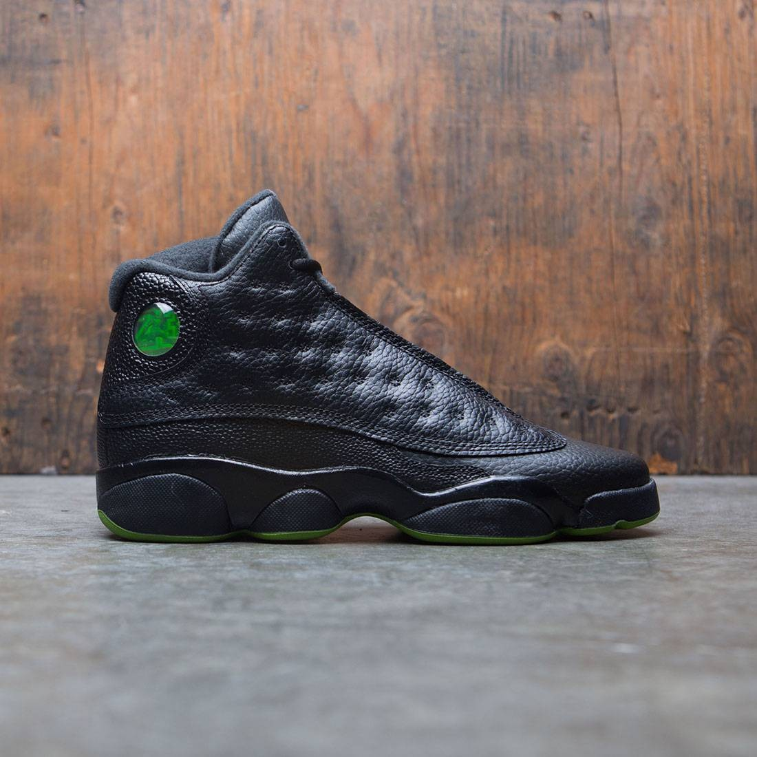 7c69e4ef7e5 jordan big kids air jordan 13 retro gs black altitude green