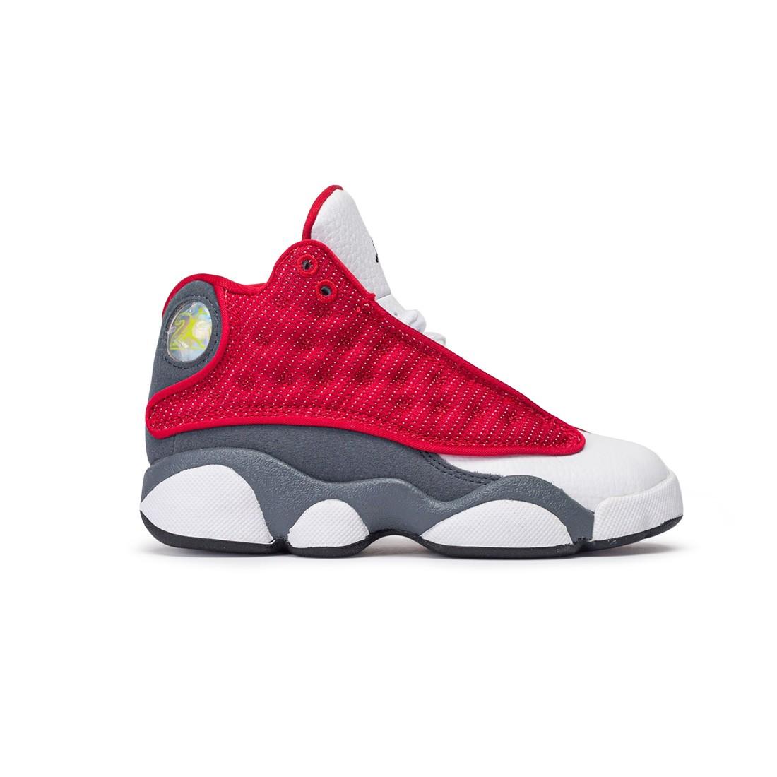 Jordan Little Kids 13 Retro (gym red / black-flint grey-white)