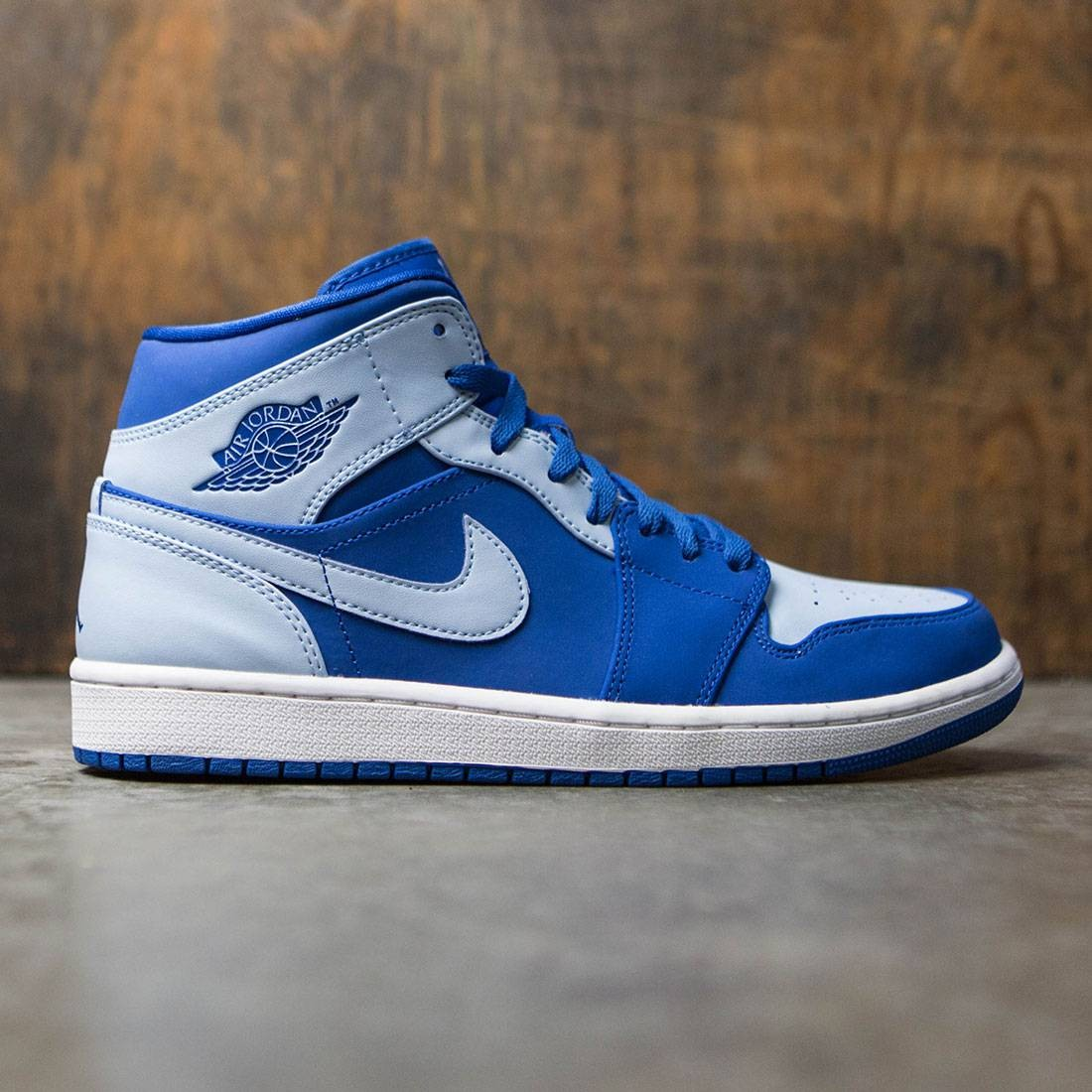 Air Jordan 1 Mid Men (team royal / ice blue-white)