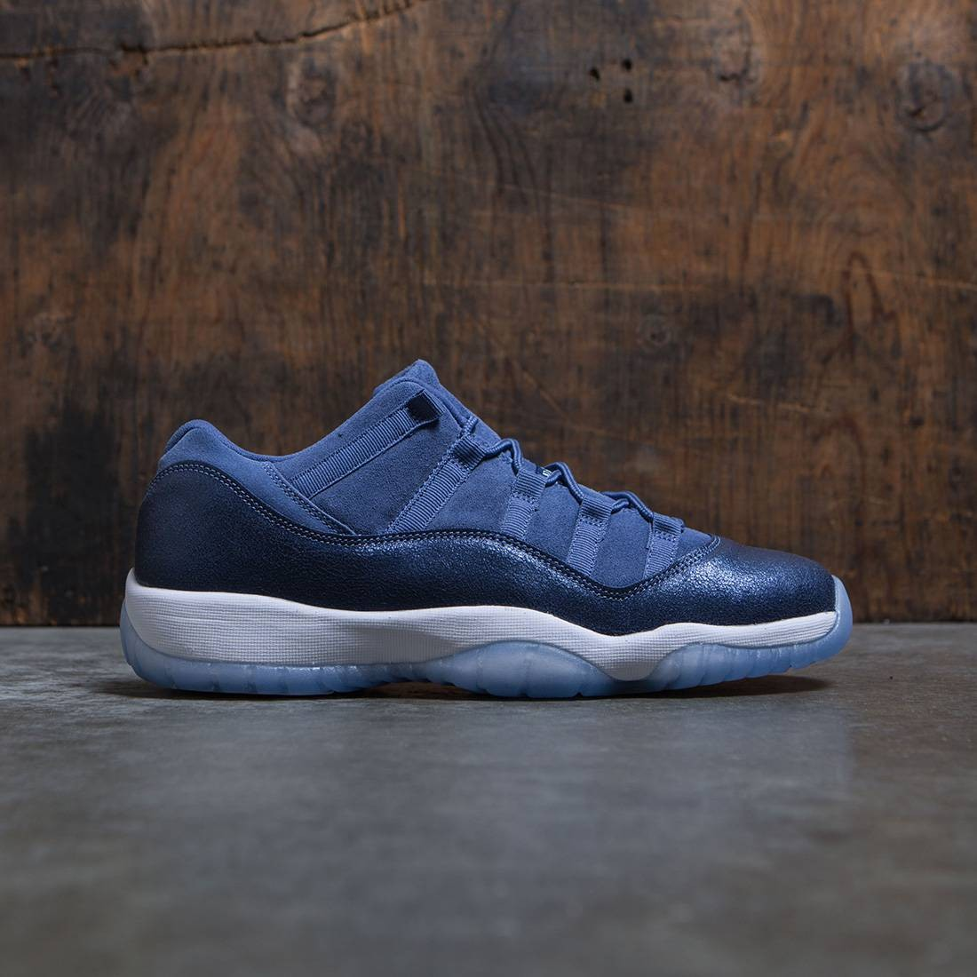 on sale 94f47 0e4c8 jordan big kids air jordan 11 retro low gs blue moon polarized blue binary  blue