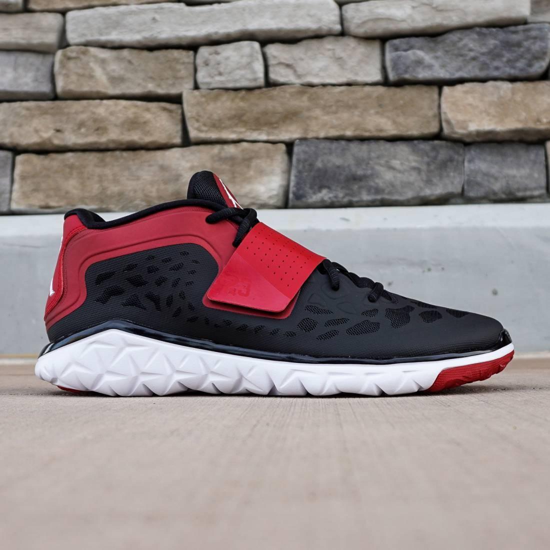 timeless design 5ed98 6e51c Jordan Men Flight Flex Trainer 2 (black / white / gym red)