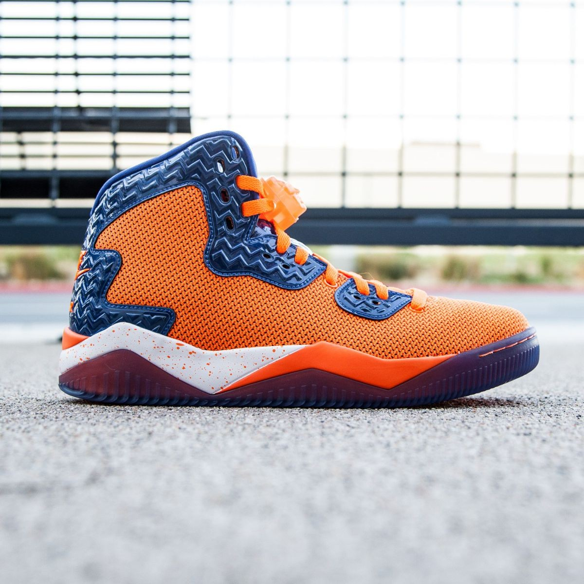 Air Jordan Spike Forty PE Men (orange / total orange / game royal / white)