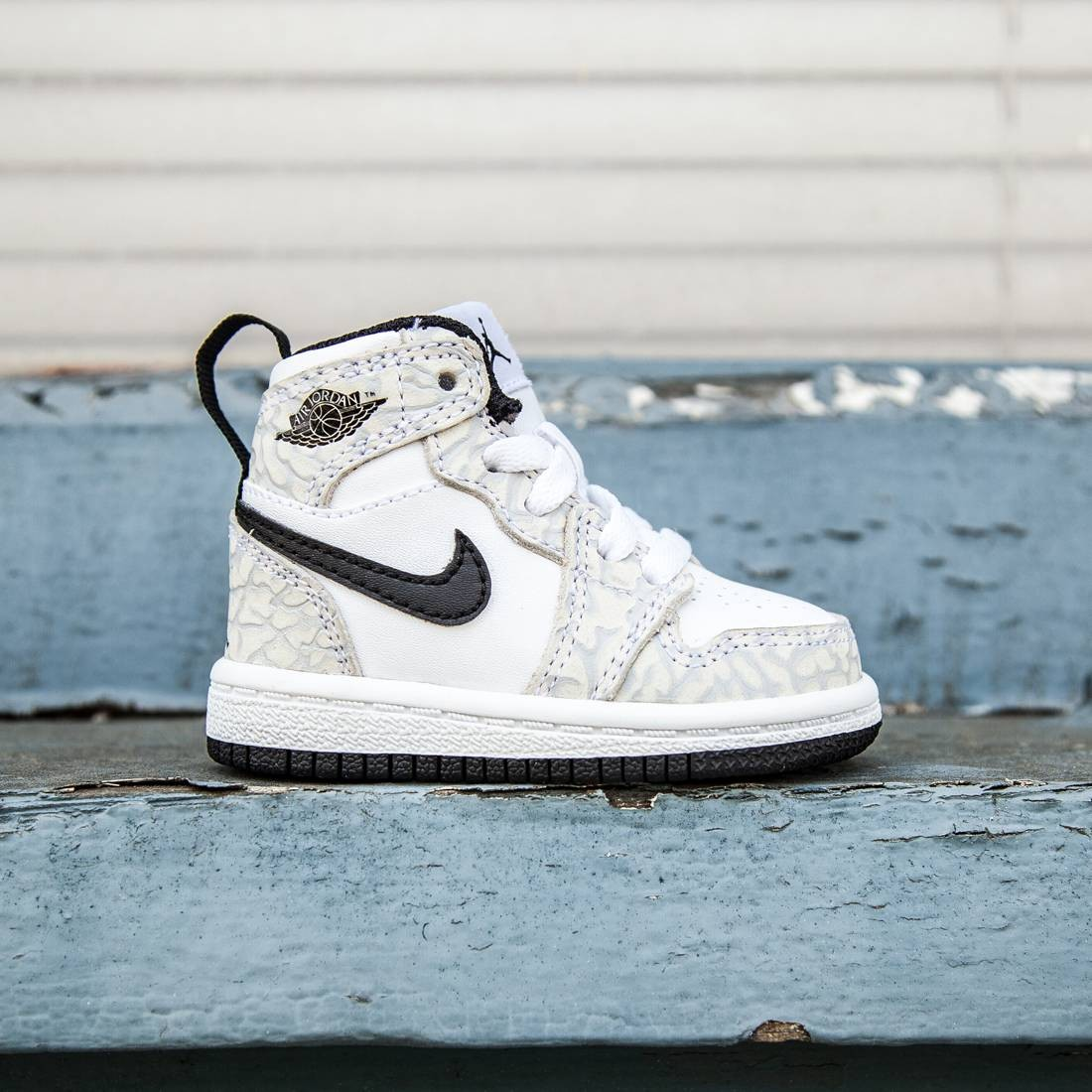 Air Jordan 1 Retro High Premium BT Toddlers (white / black / pure platinum)