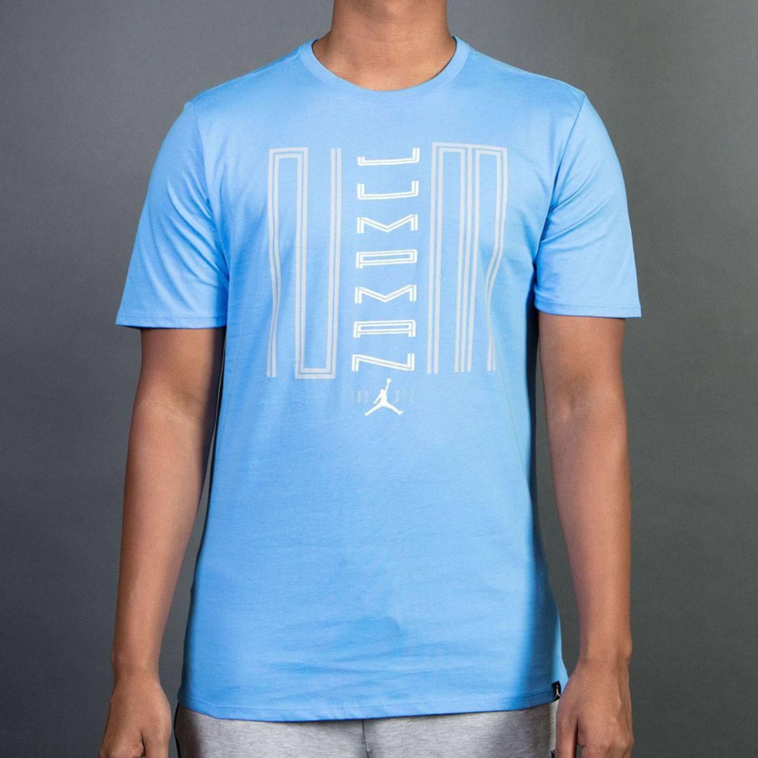 be581190c97 jordan men air jordan 11 jumpman 23 tee blue university blue white