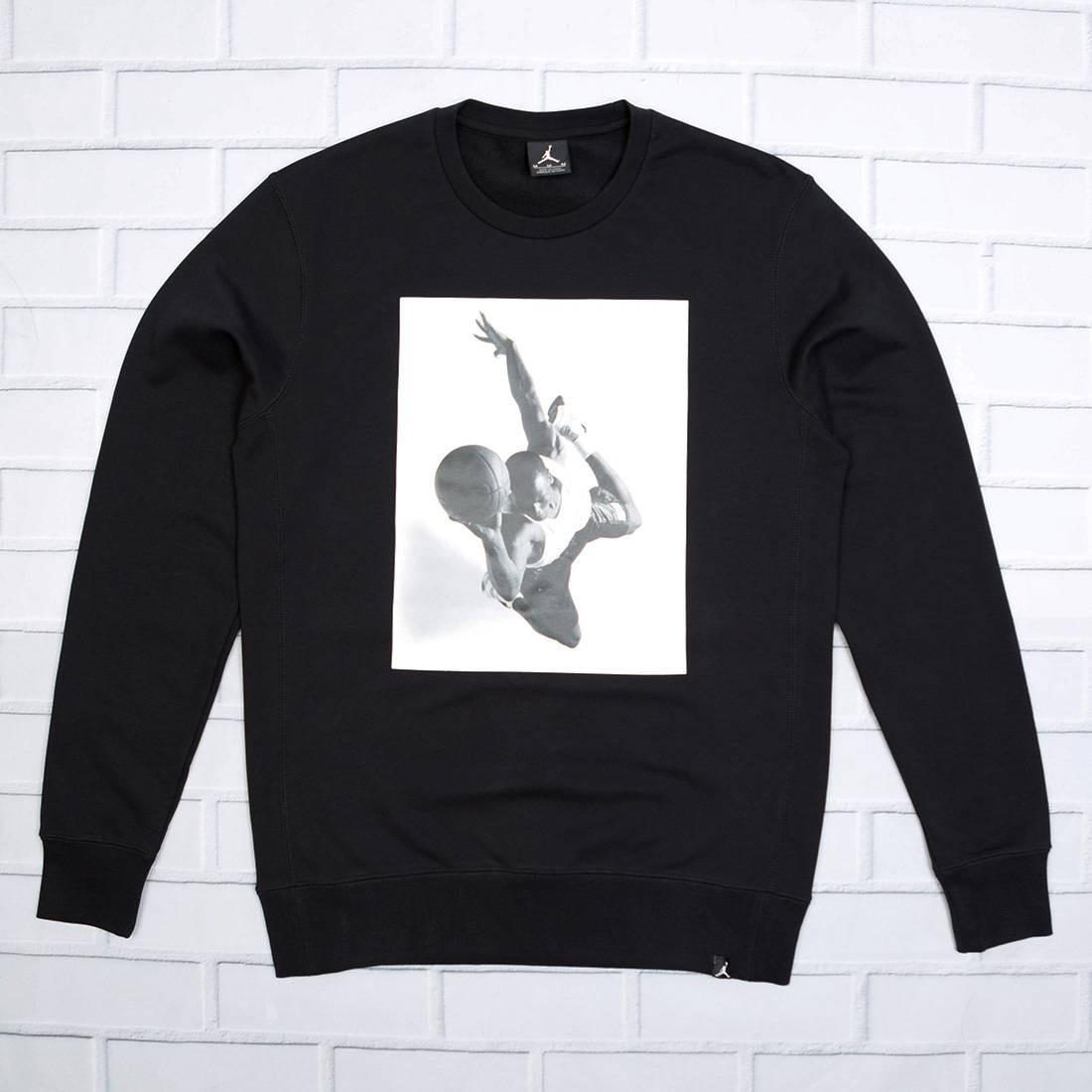 Jordan Men Sportswear Legend Flight Lite Crewneck (black)