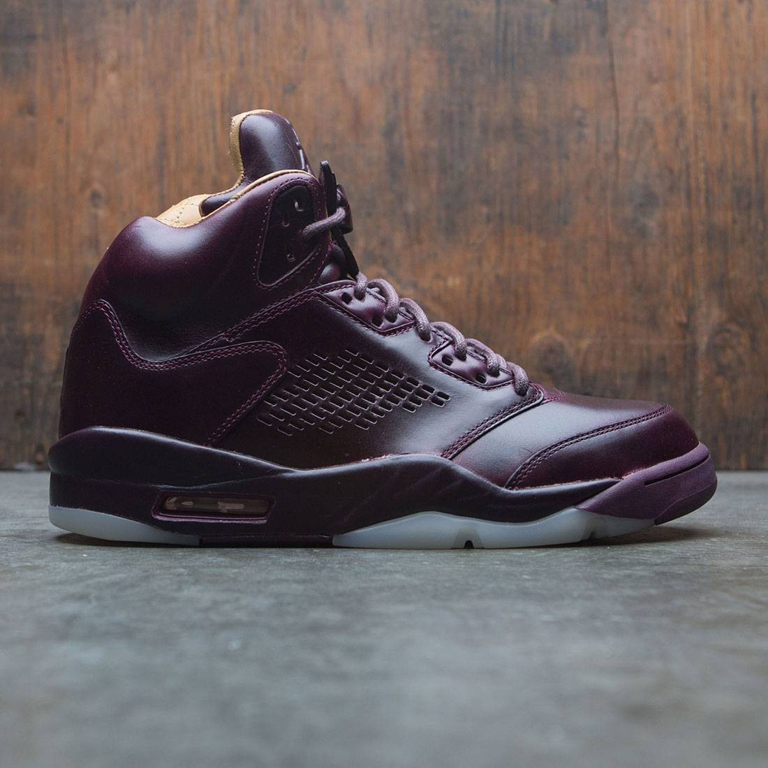 500c5aaaae8c jordan men air jordan 5 retro premium bordeaux bordeaux sail elemental gold