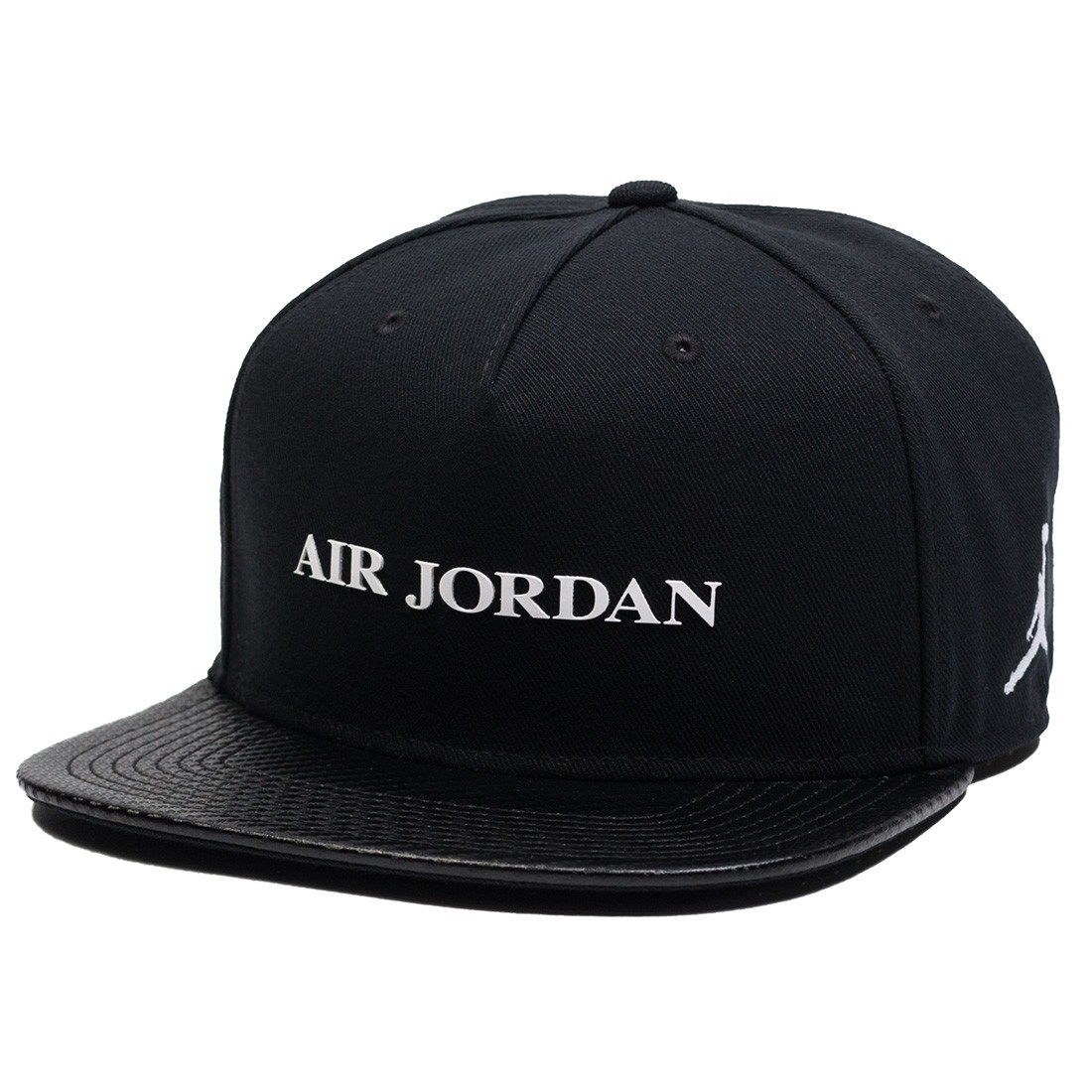 san francisco 51953 4873a jordan men unisex jordan jumpman pro aj 10 cap black white