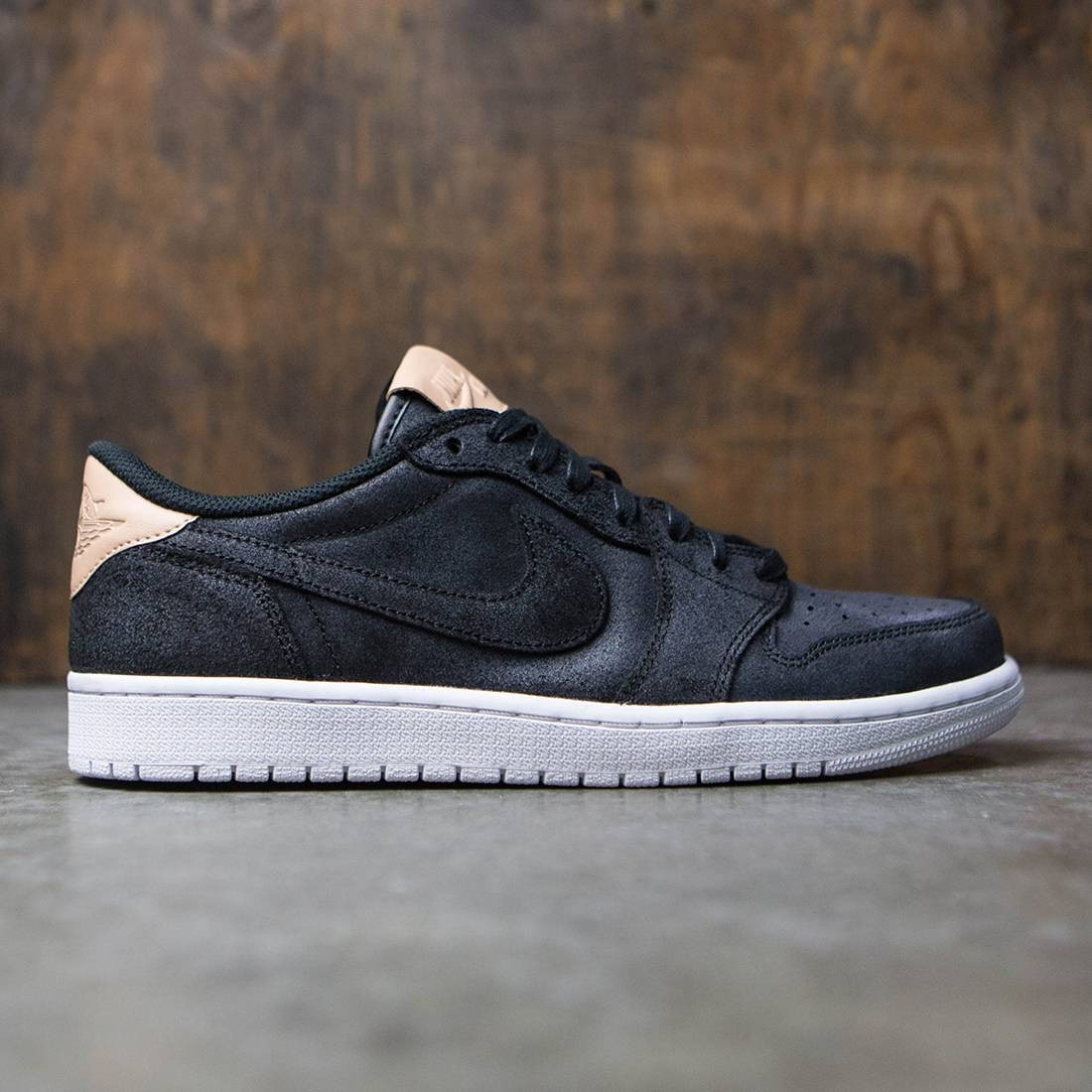 c7b7ed8cd5bc7b jordan men air jordan 1 retro low og premium black vachetta tan white
